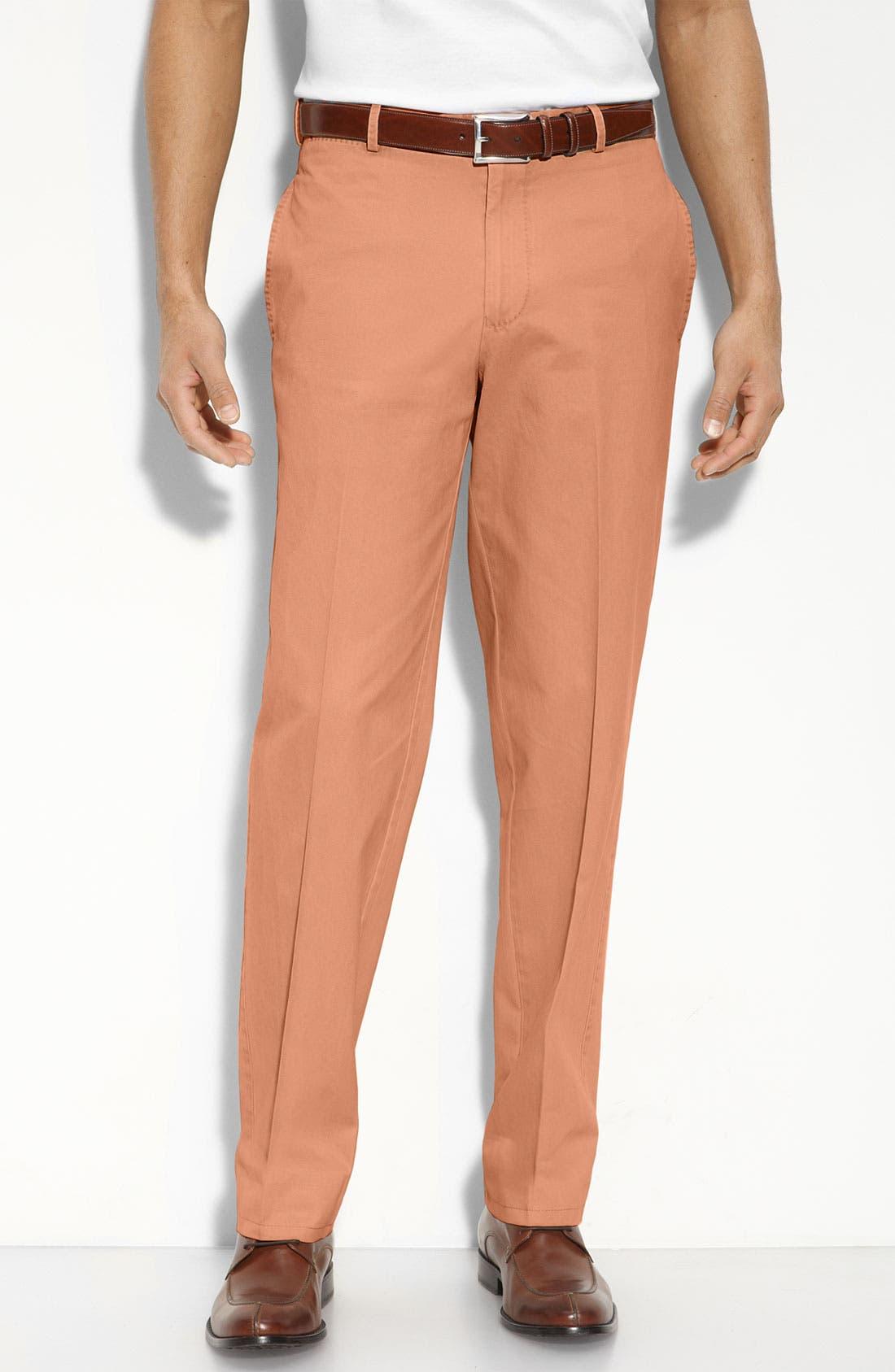 Garment Washed Twill Pants,                             Main thumbnail 19, color,