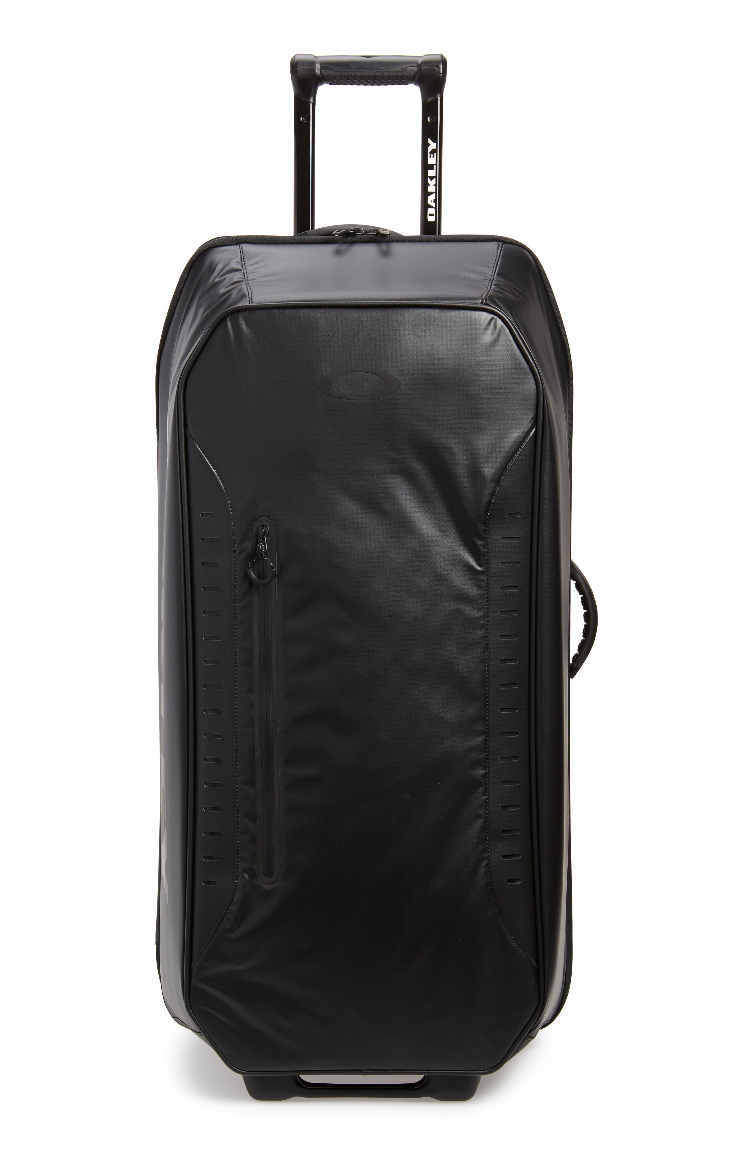 FP 115L Rolling Duffel Bag, Main, color, BLACKOUT