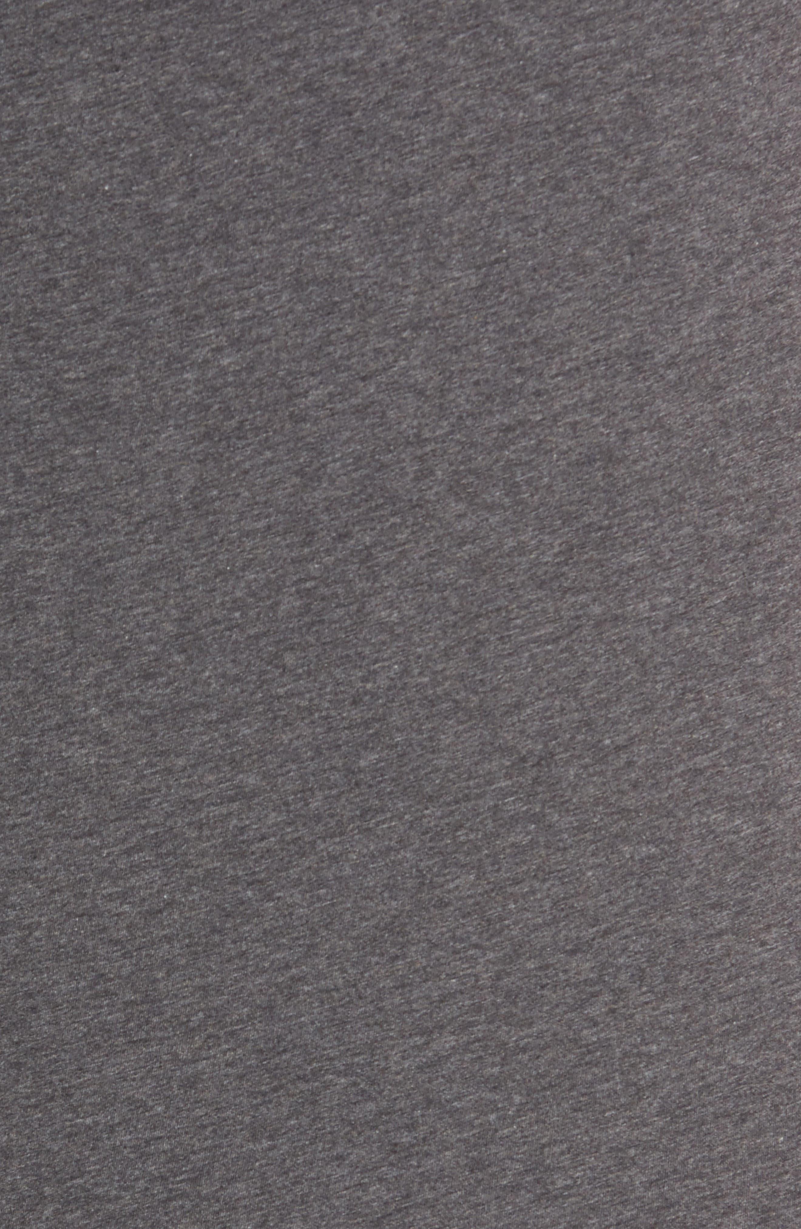 Crewneck T-Shirt,                             Alternate thumbnail 4, color,                             HEATHER CARBON