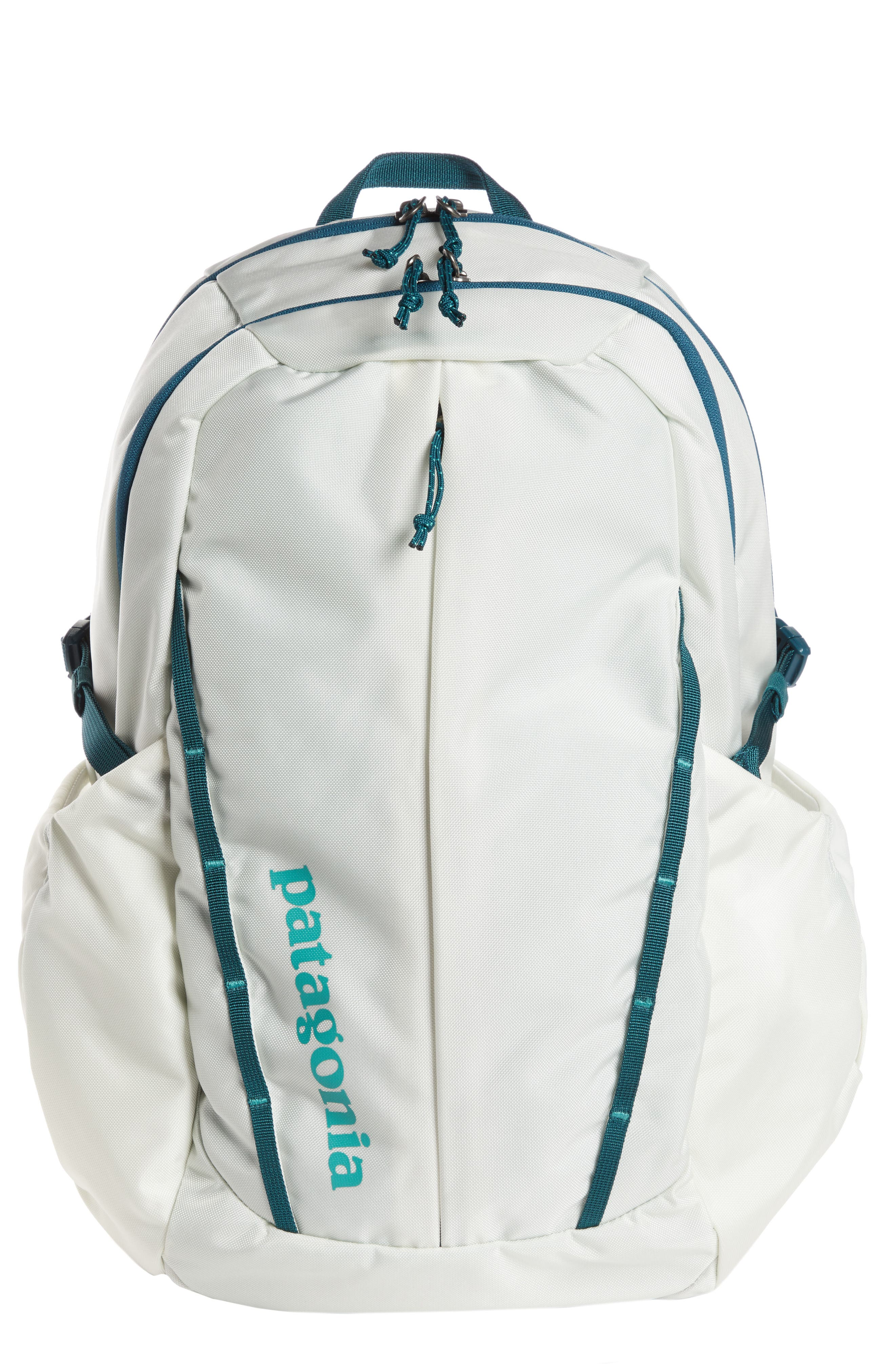 Refugio 26L Backpack,                         Main,                         color, BIRCH WHITE W/ TIDAL TEAL