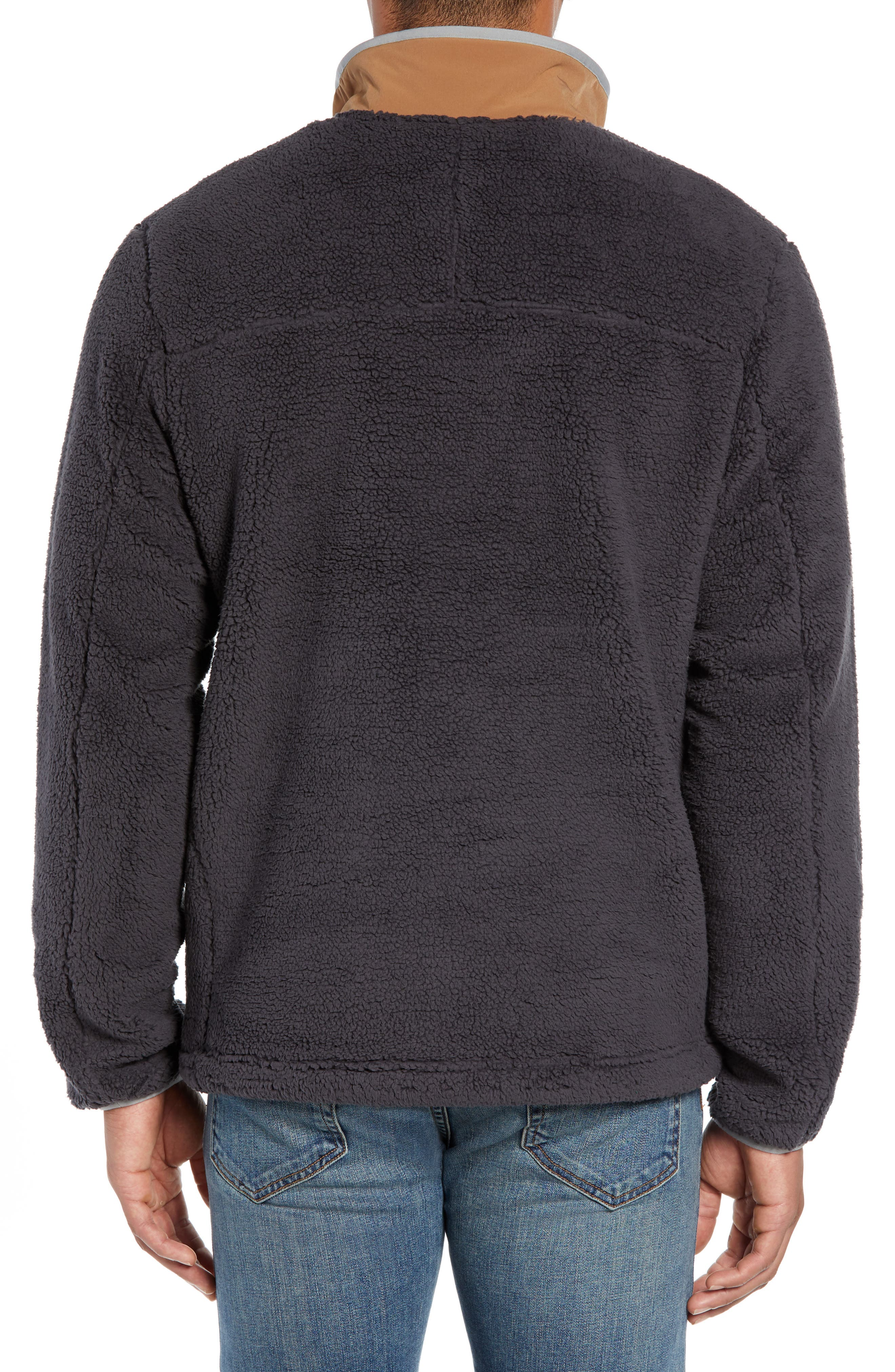 THE NORTH FACE,                             Campshire Pullover Fleece Jacket,                             Alternate thumbnail 2, color,                             001