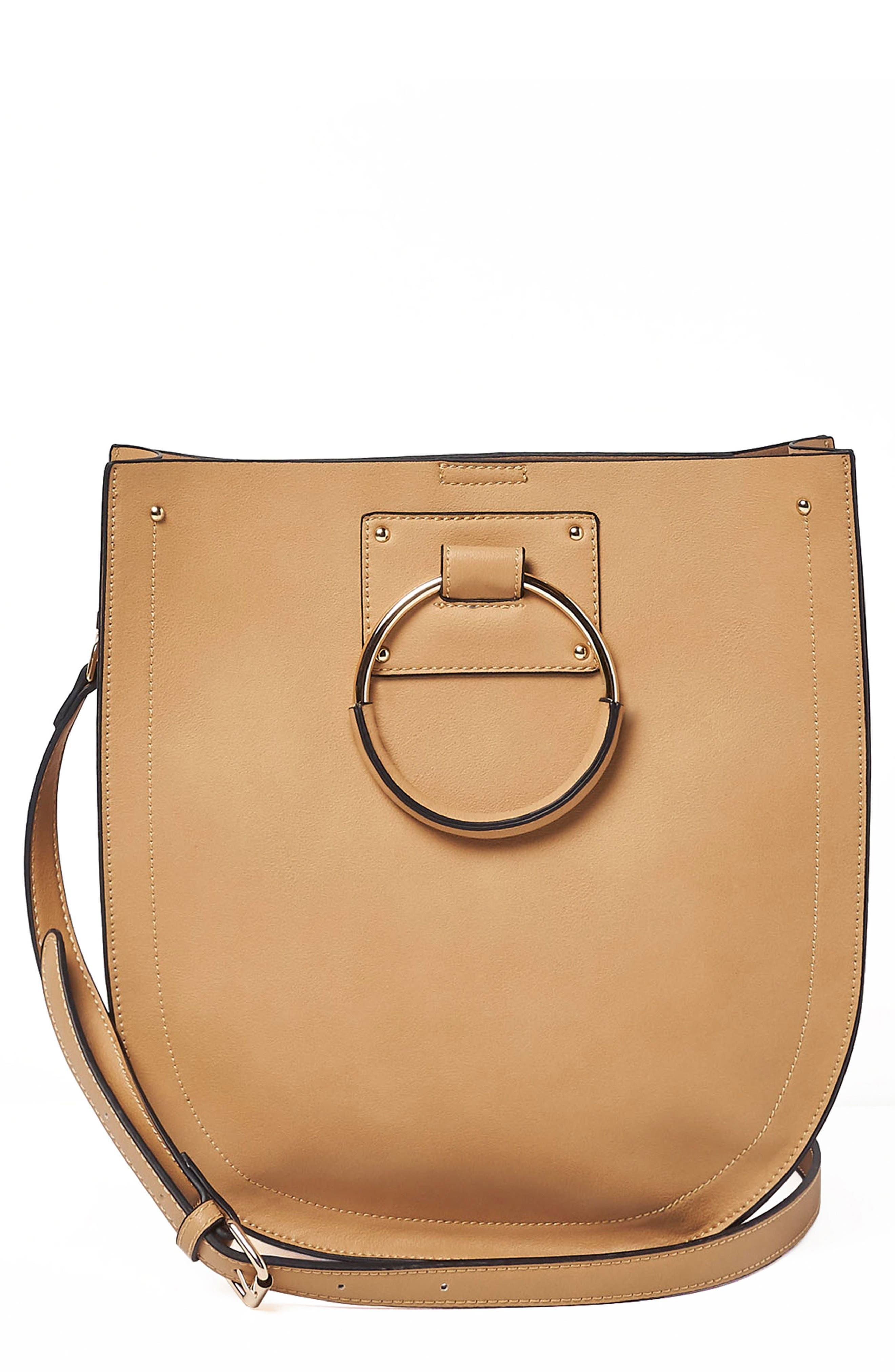 Nordic Dream Vegan Leather Shoulder Bag,                             Main thumbnail 3, color,