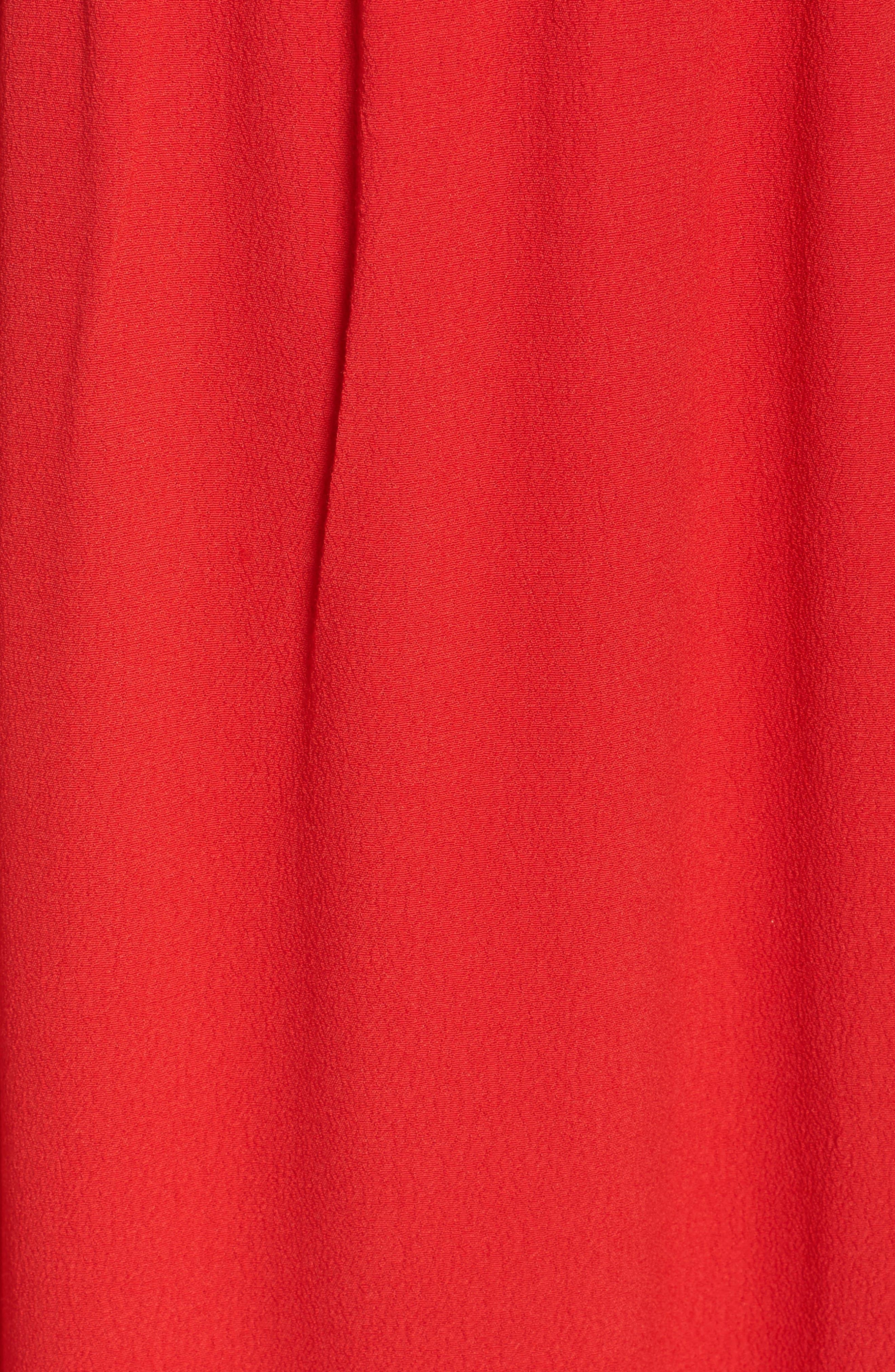 Cold Shoulder Midi Dress,                             Alternate thumbnail 5, color,                             600