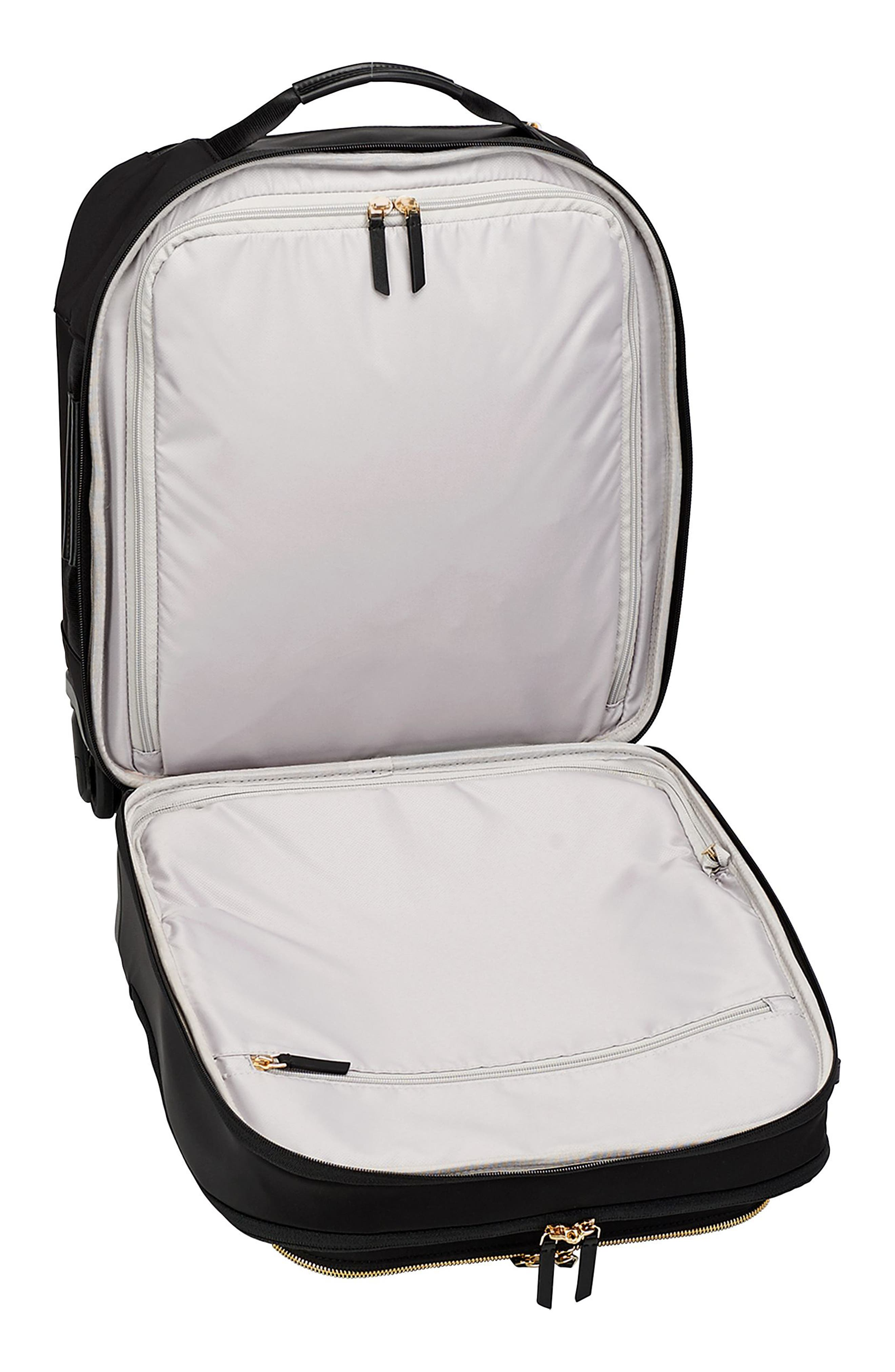 TUMI,                             Voyageur Osona 16-Inch Compact Carry-On,                             Alternate thumbnail 3, color,                             BLACK