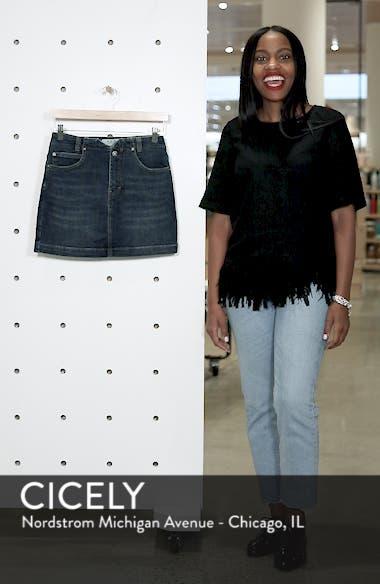 She's All That Denim Miniskirt, sales video thumbnail