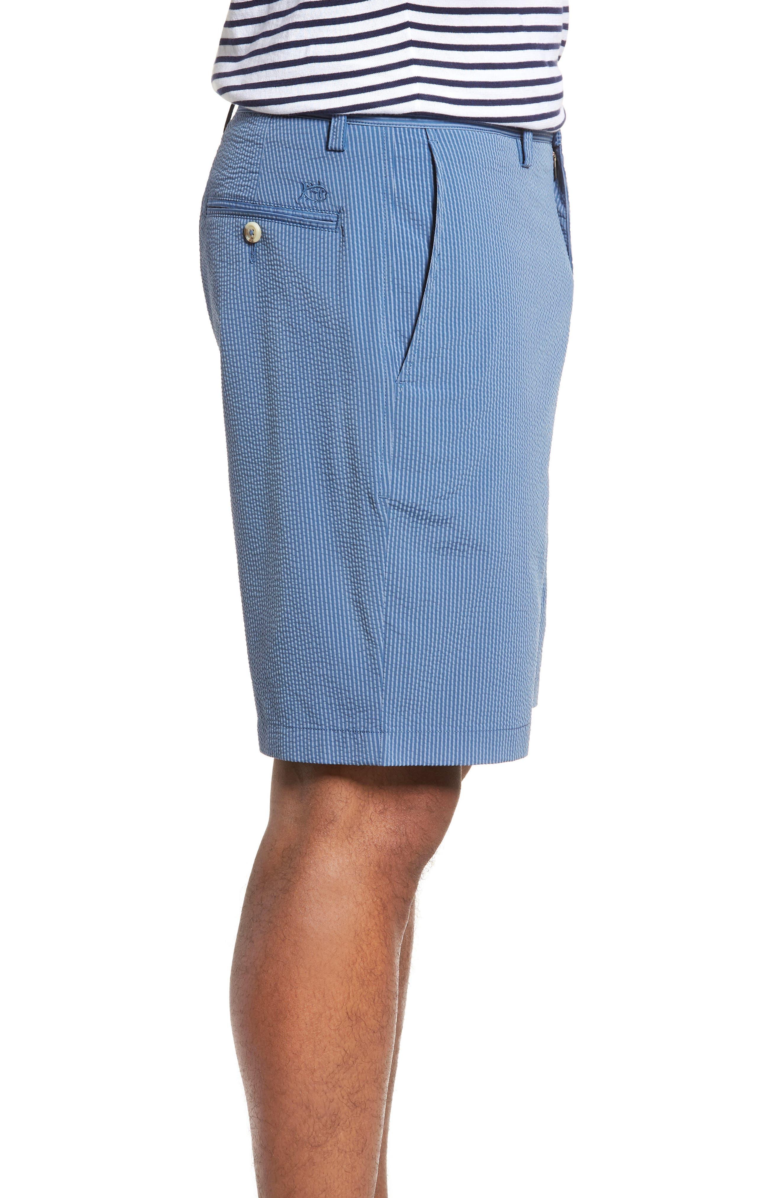 Seersucker Shorts,                             Alternate thumbnail 3, color,                             425