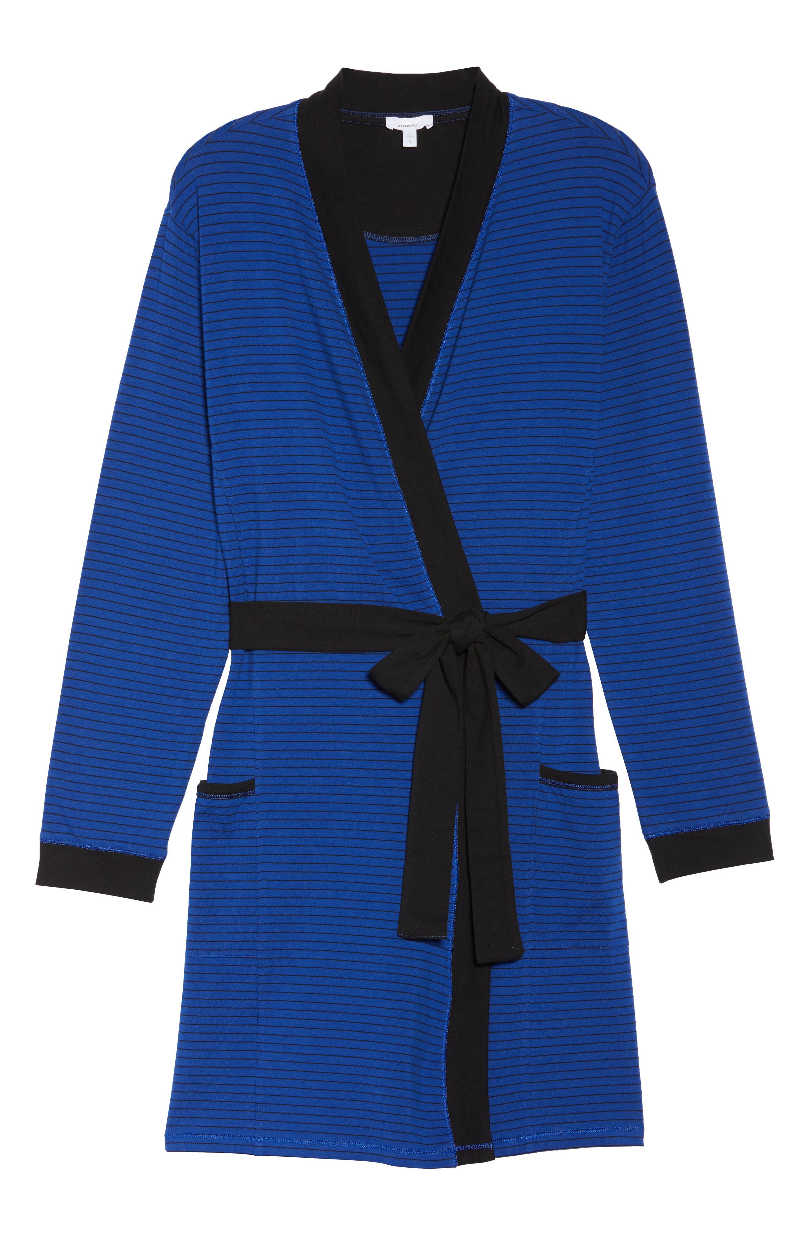 Power Stripe Robe,                             Alternate thumbnail 6, color,                             408