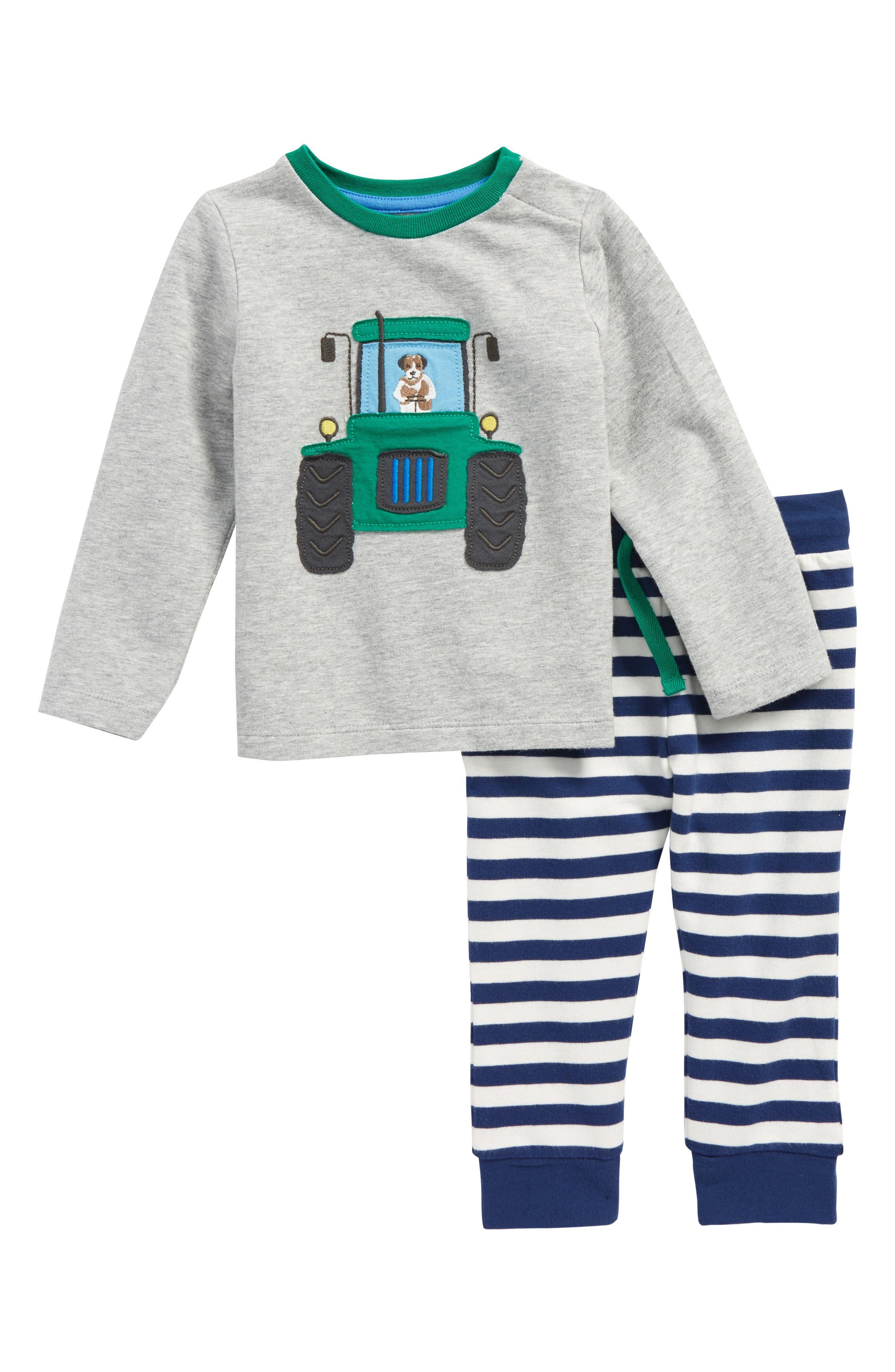 Appliqué T-Shirt & Pants Set,                         Main,                         color,