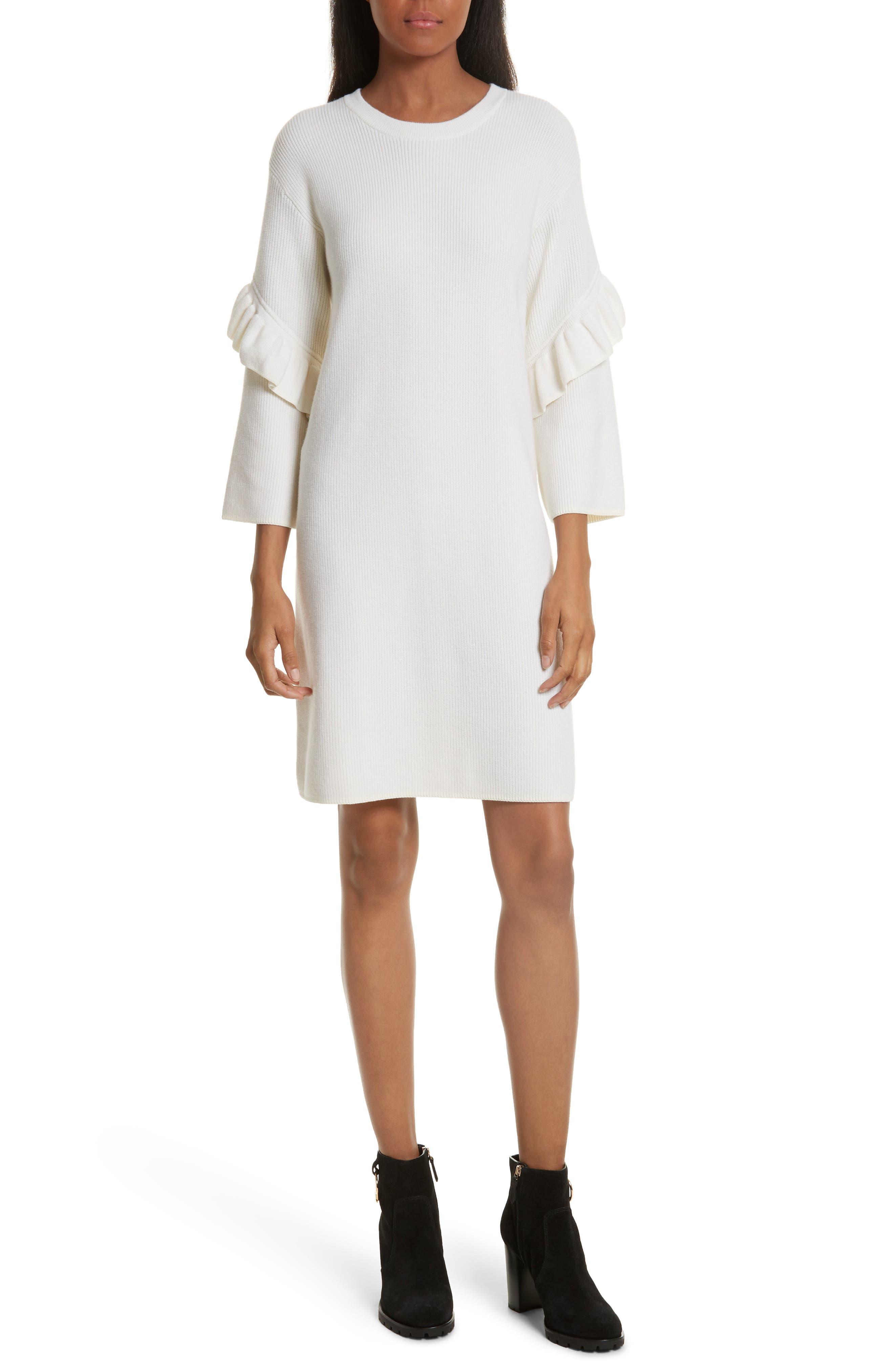 Ashley Sweater Dress,                             Main thumbnail 1, color,                             904