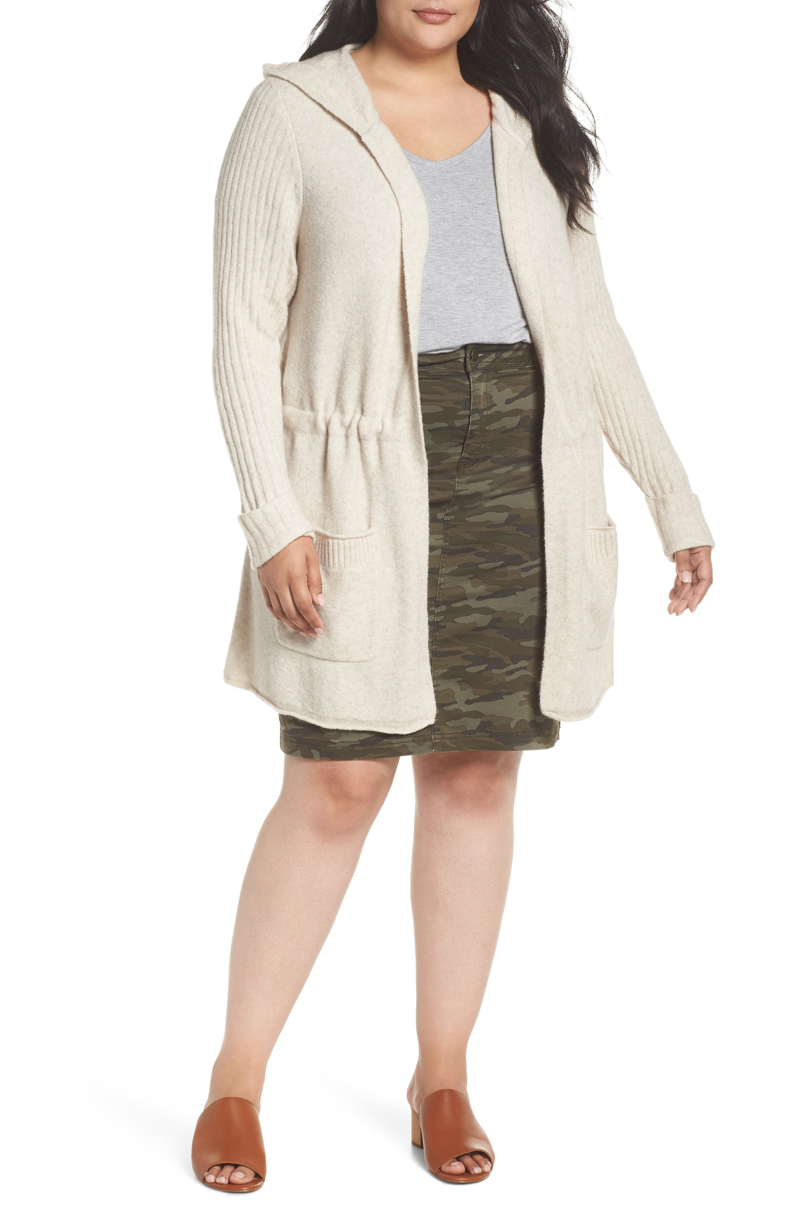 Hooded Cardigan,                         Main,                         color, 270