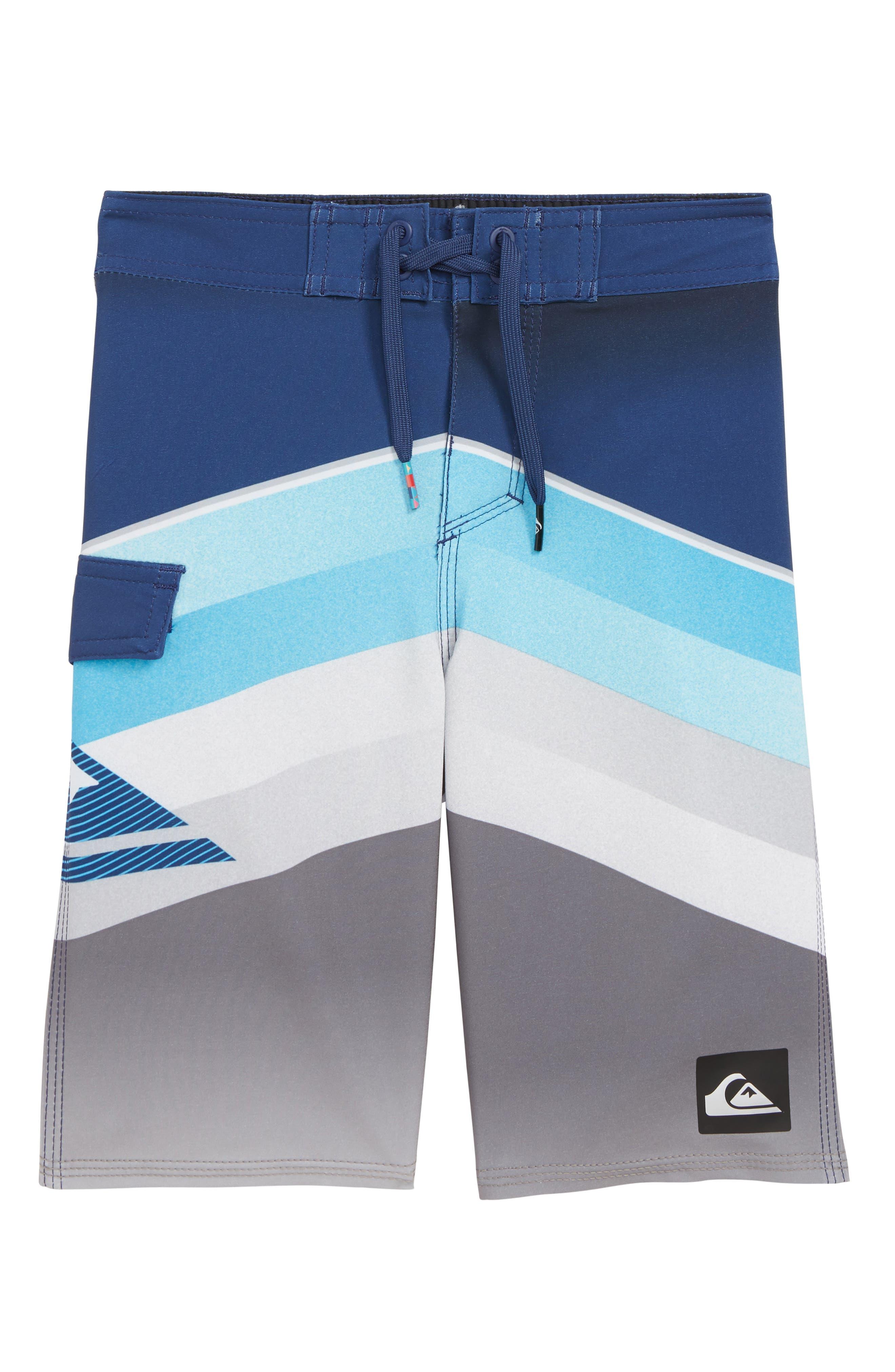 Divide Board Shorts,                         Main,                         color, BLACK
