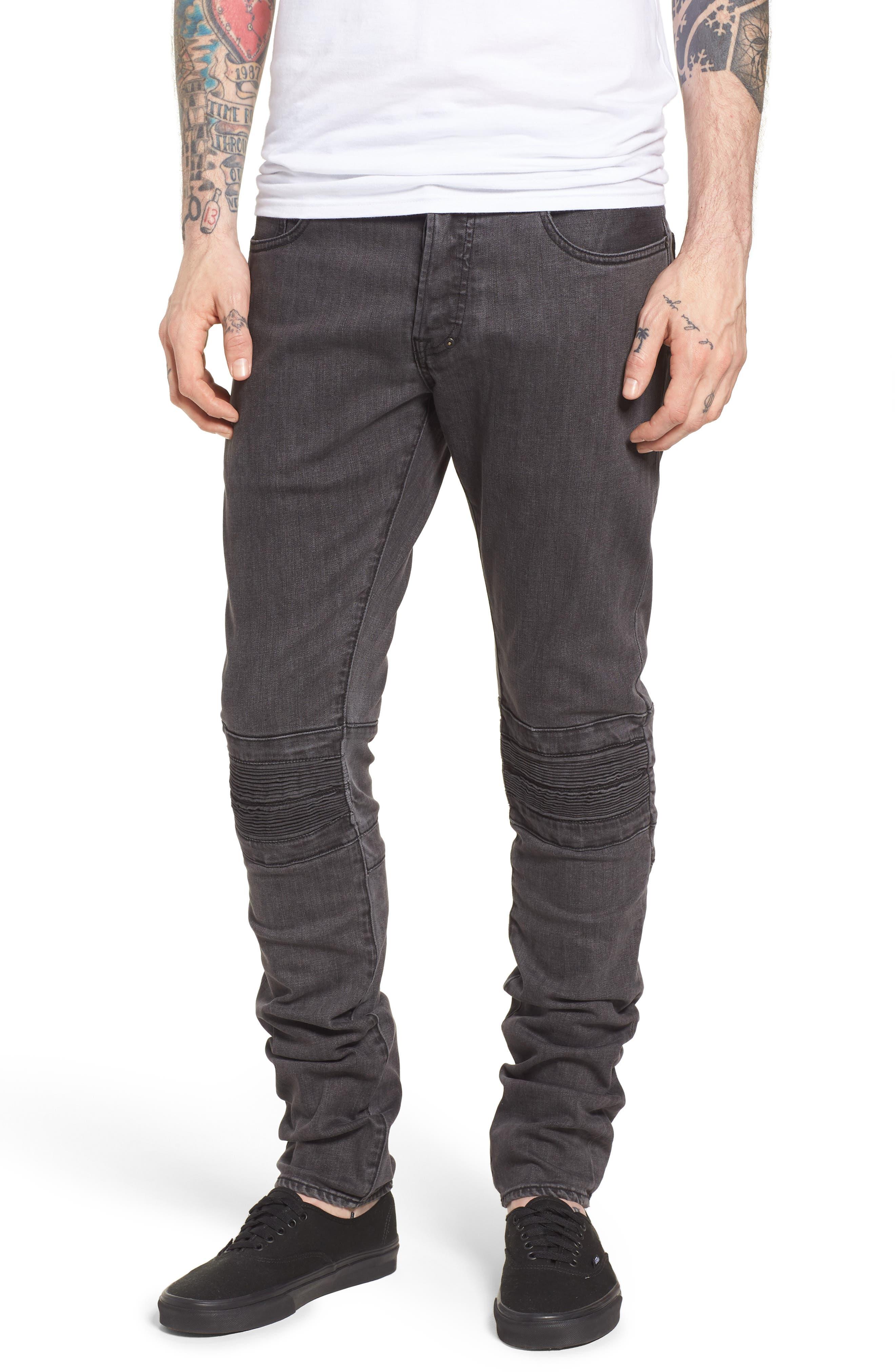 Le Sabre Slim Fit Jeans,                             Main thumbnail 1, color,                             FESTIVAL