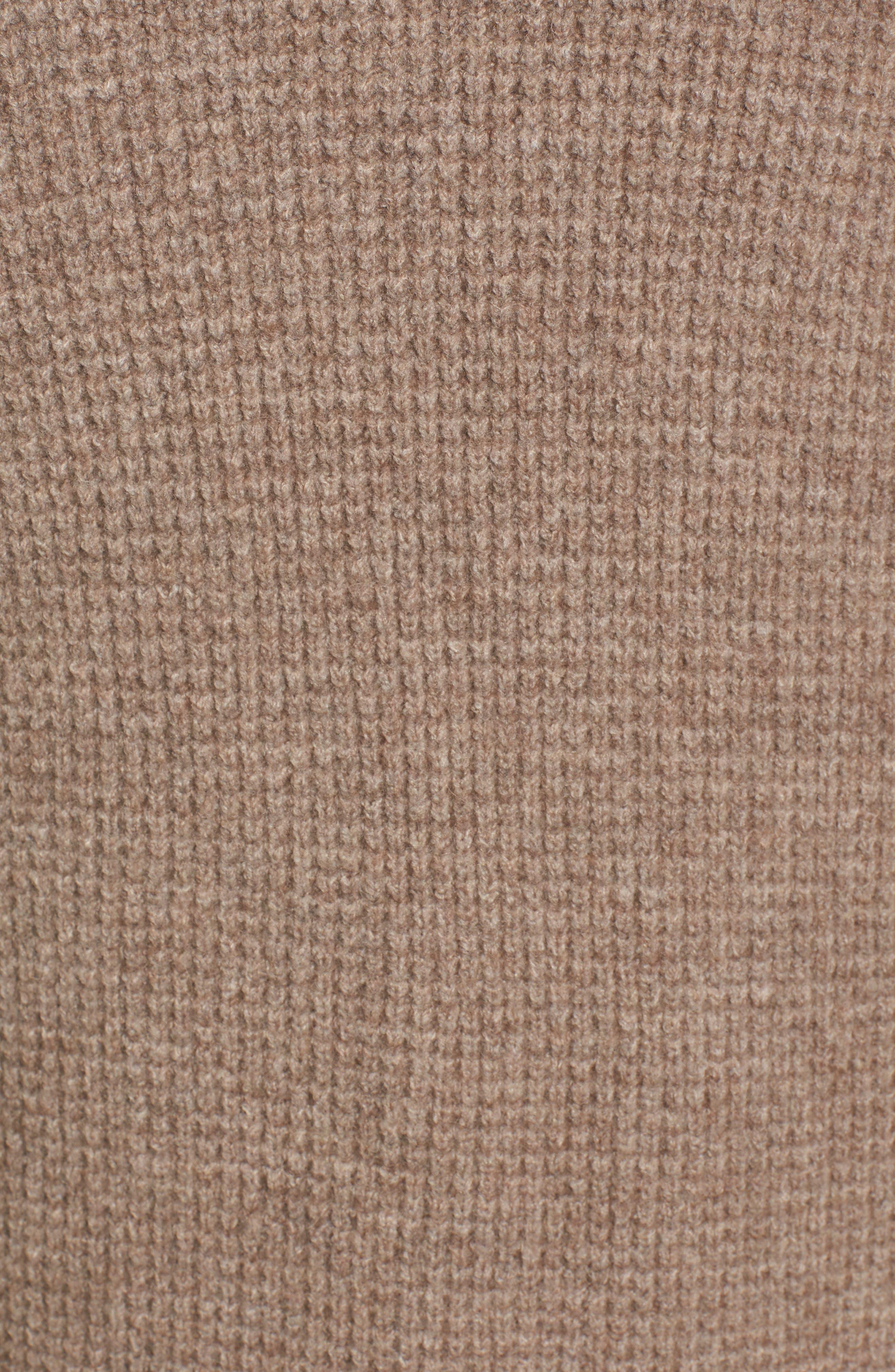 Waffle Stitch Cardigan Sweater,                             Alternate thumbnail 5, color,                             200