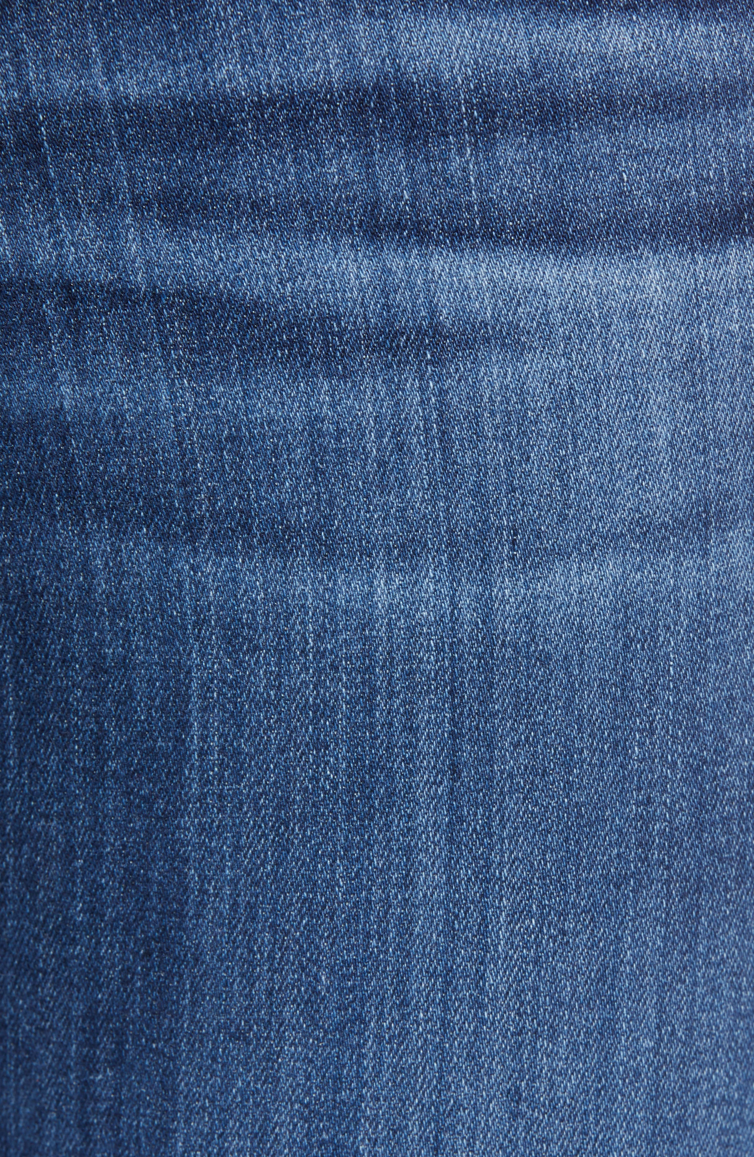 Angel Bootcut Jeans,                             Alternate thumbnail 6, color,                             05 YEAR BLUE ESSENCE