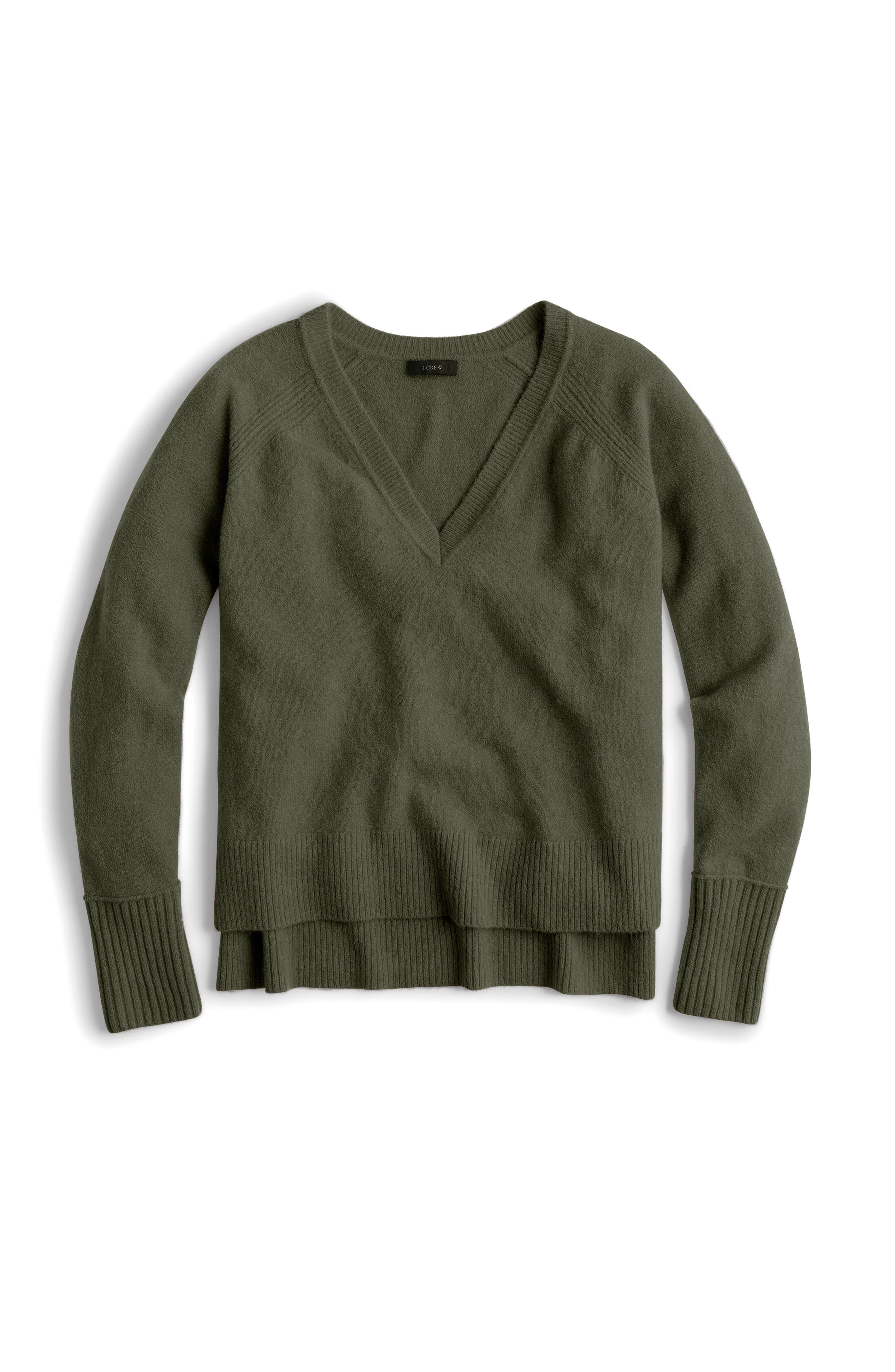 Supersoft Yarn V-Neck Sweater,                             Main thumbnail 7, color,