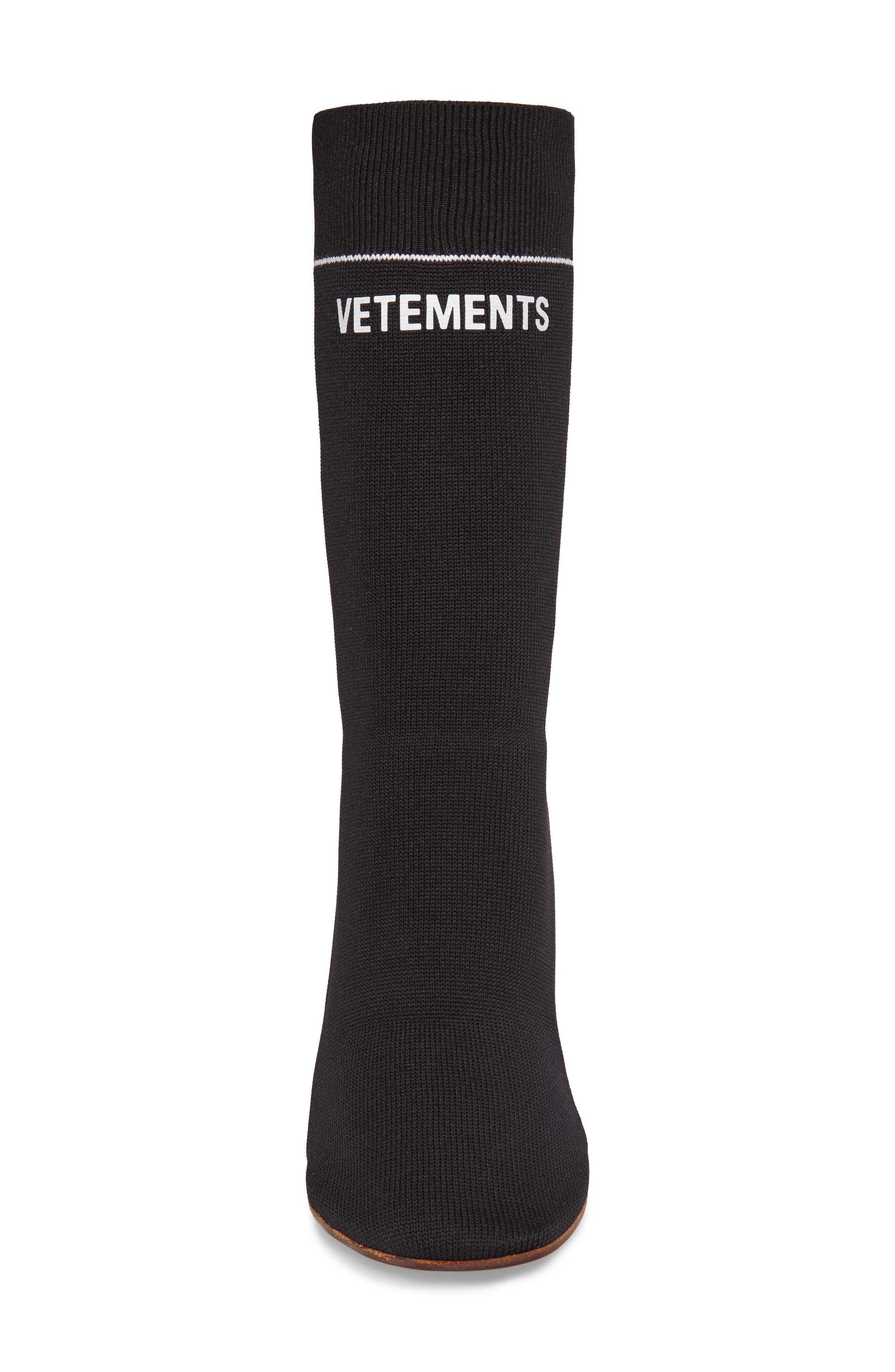 Sock Boot,                             Alternate thumbnail 4, color,                             001