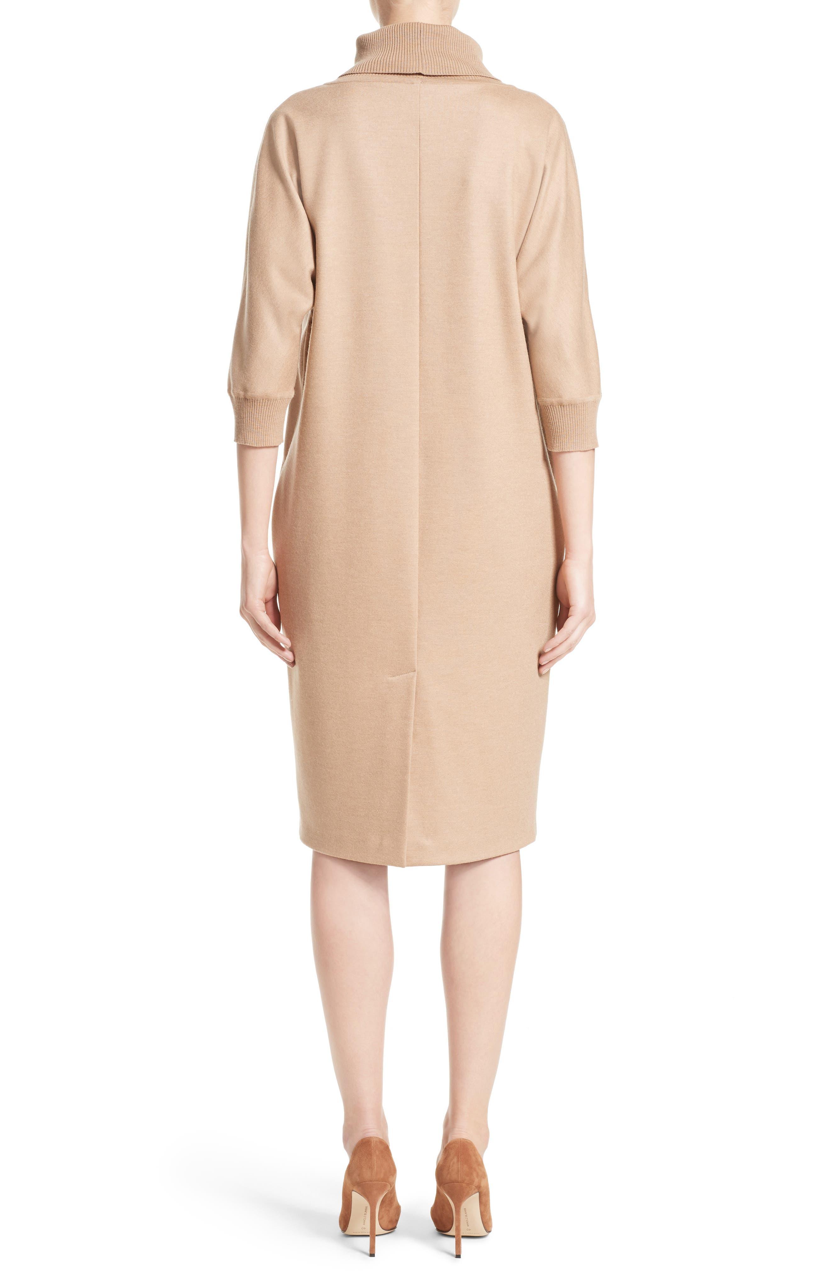 Agro Wool Turtleneck Dress,                             Alternate thumbnail 2, color,                             232