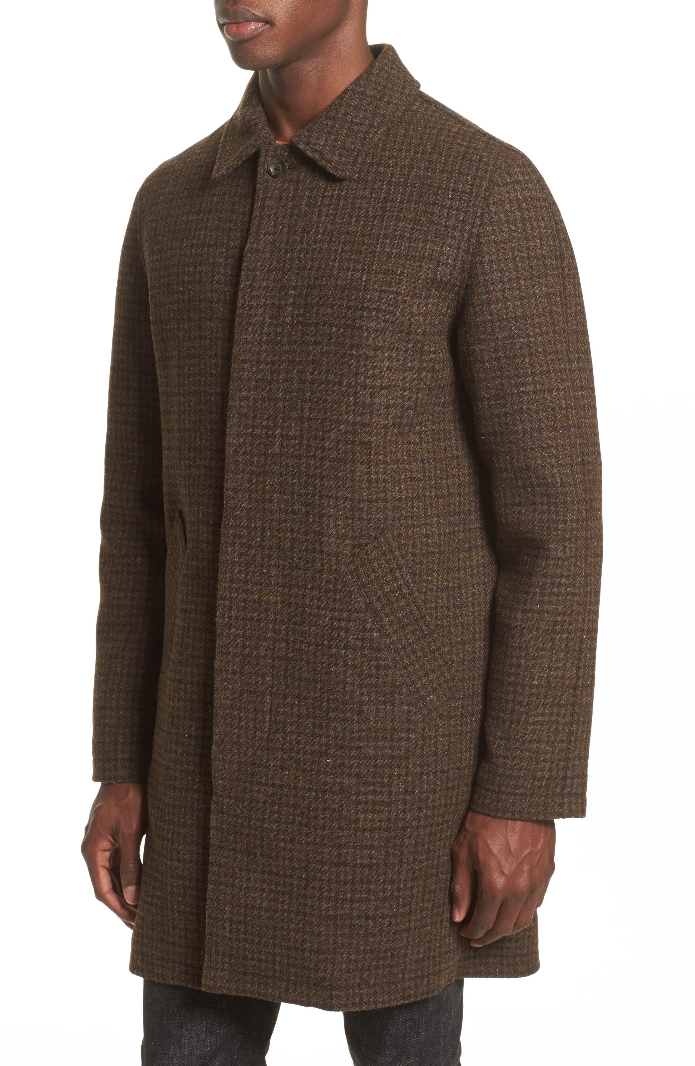 Tweed Overcoat,                             Alternate thumbnail 4, color,