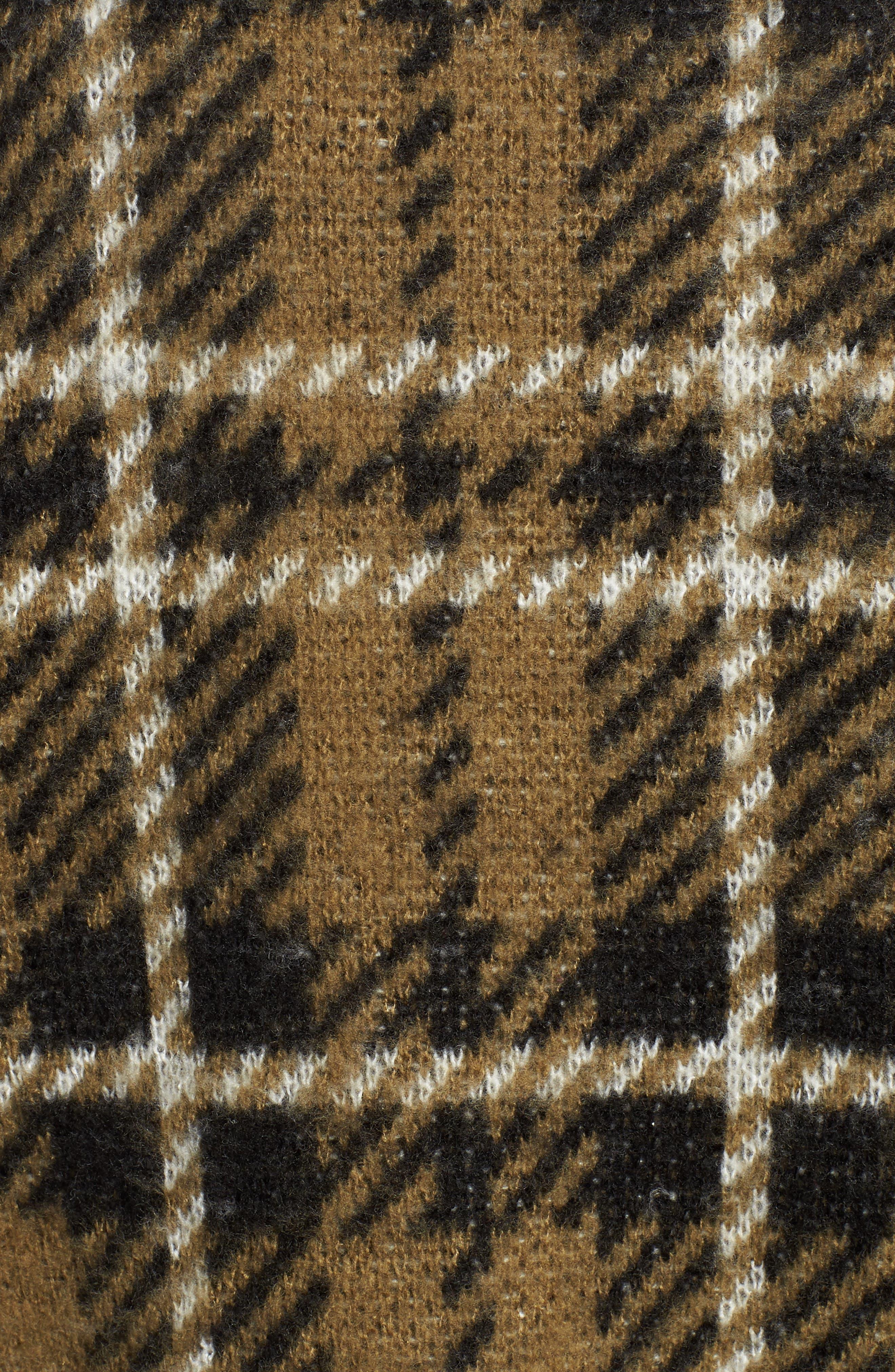 Plaid Sweater,                             Alternate thumbnail 6, color,                             315