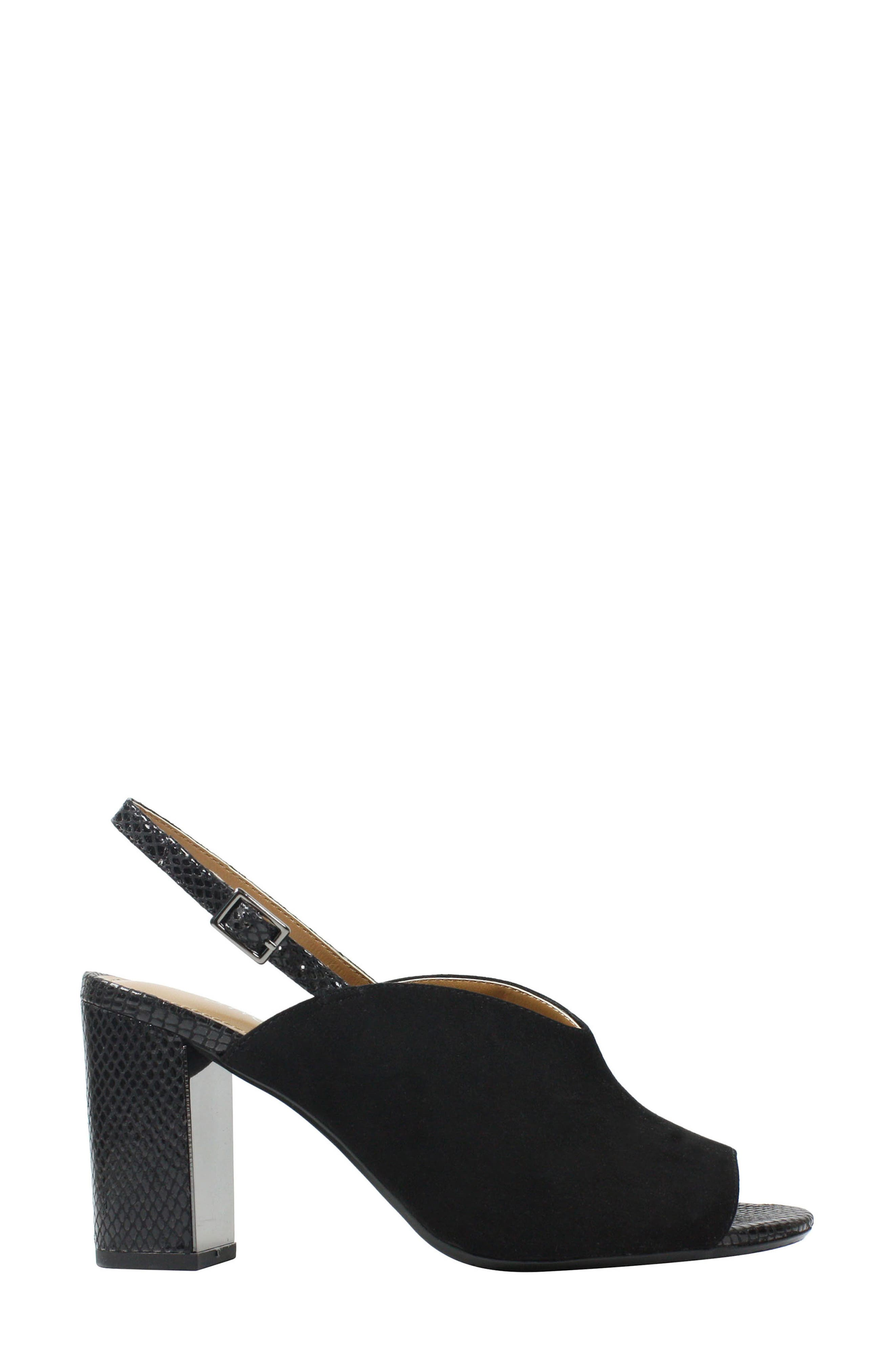 Maarya Block Heel Sandal,                             Alternate thumbnail 2, color,                             001