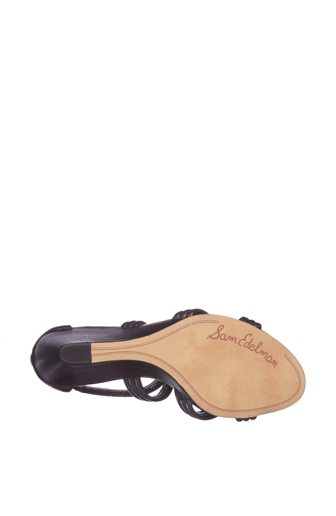'Sloan' Sandal,                             Alternate thumbnail 2, color,                             001
