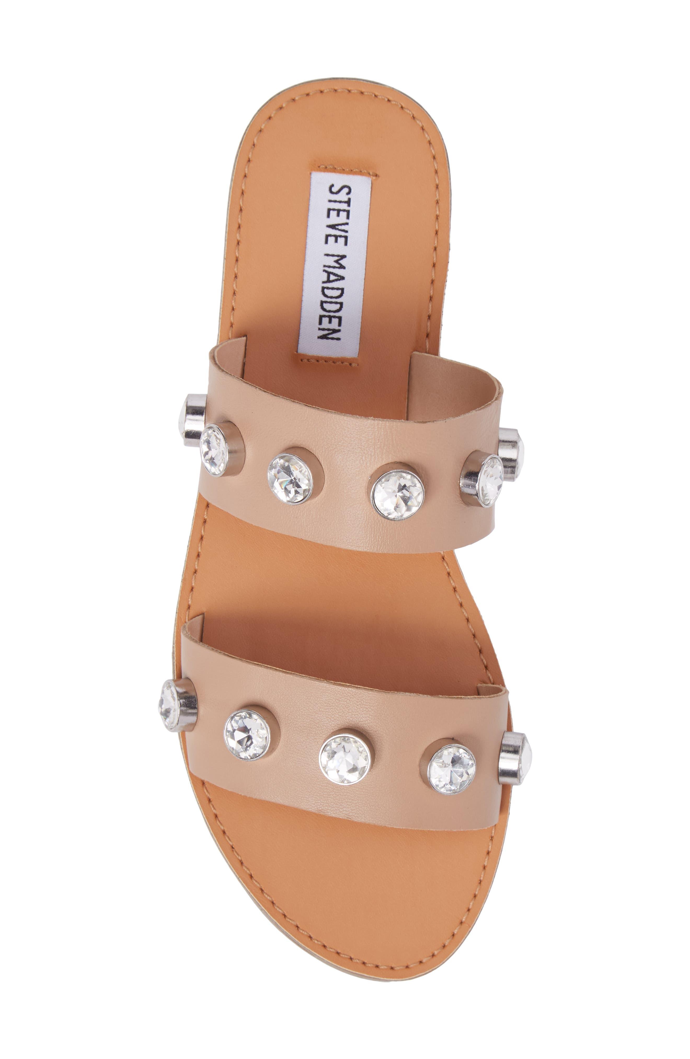 Jessy Embellished Slide Sandal,                             Alternate thumbnail 10, color,