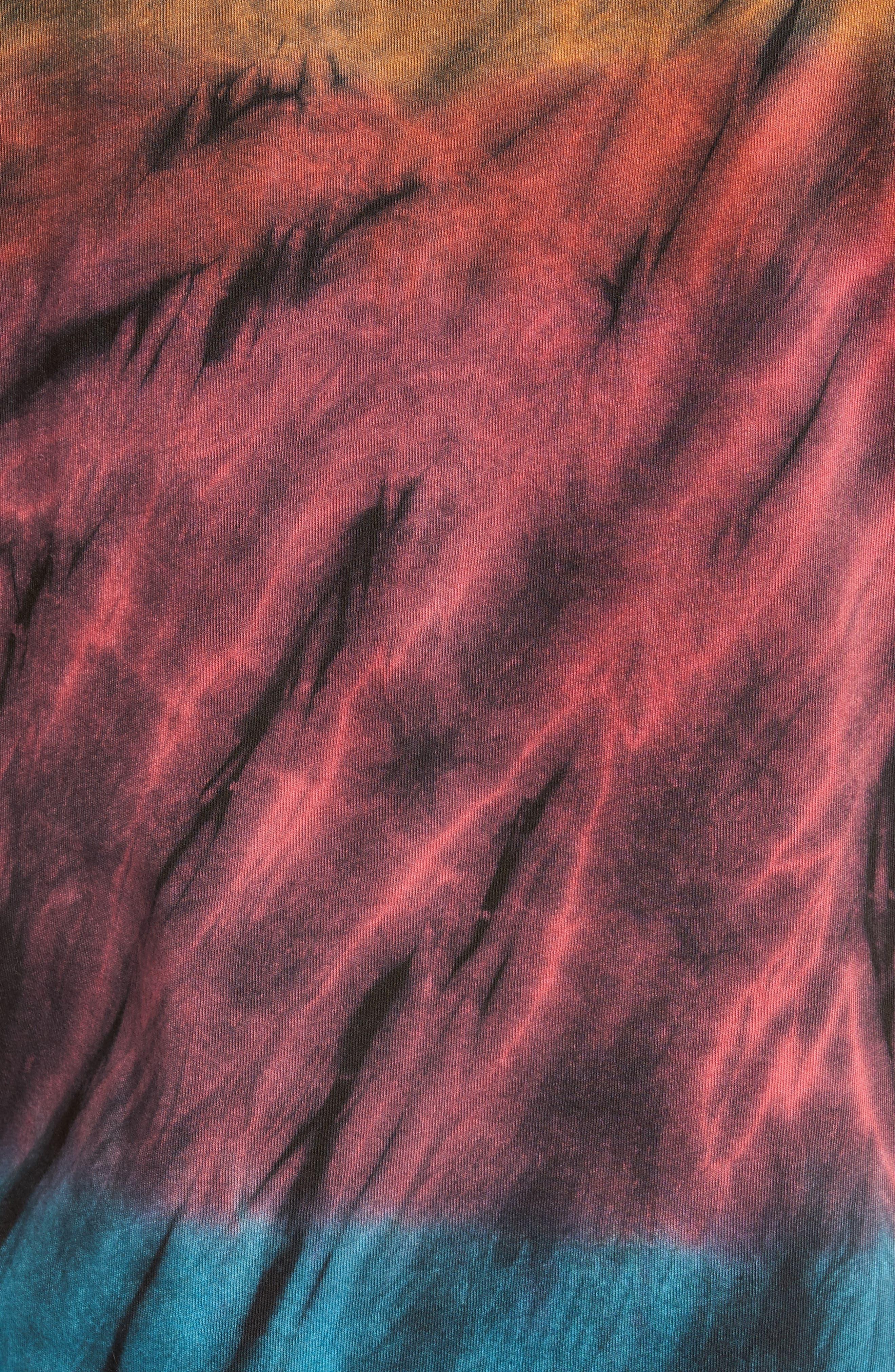 The Lawn Graphic Tie Dye T-Shirt,                             Alternate thumbnail 5, color,                             001