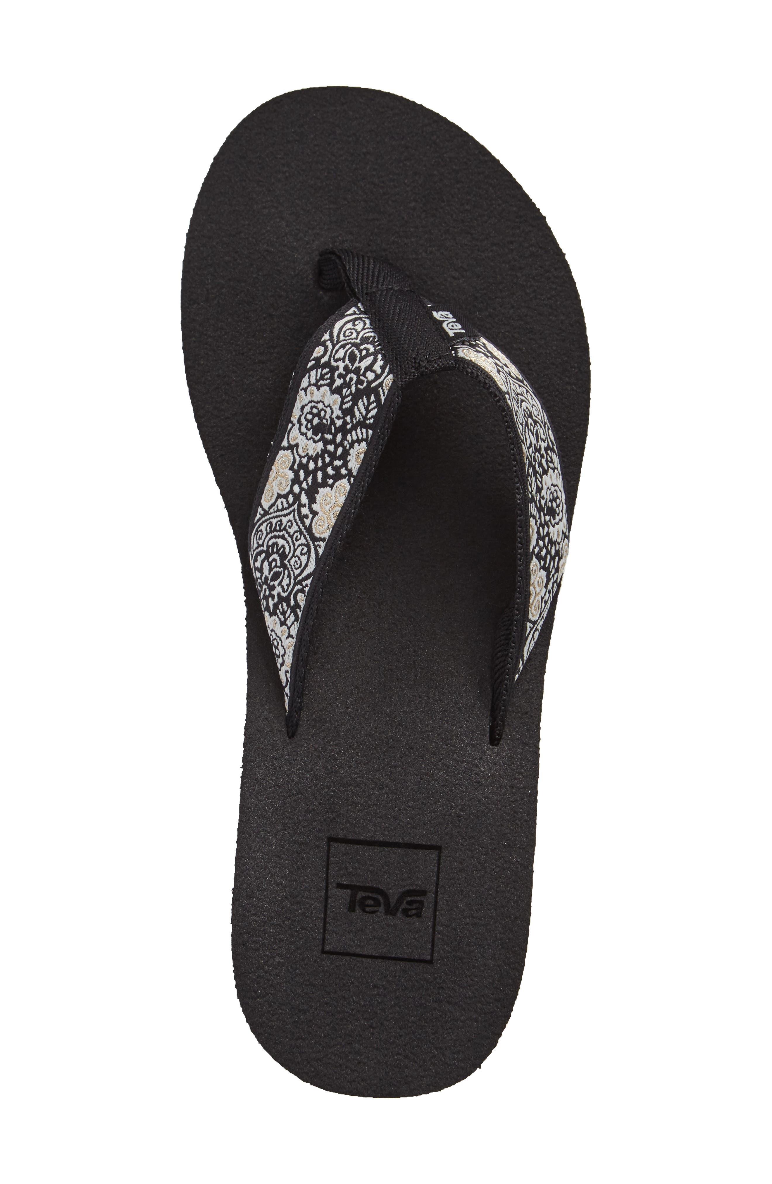 Mush Mandalyn II Wedge Sandal,                             Alternate thumbnail 3, color,                             018