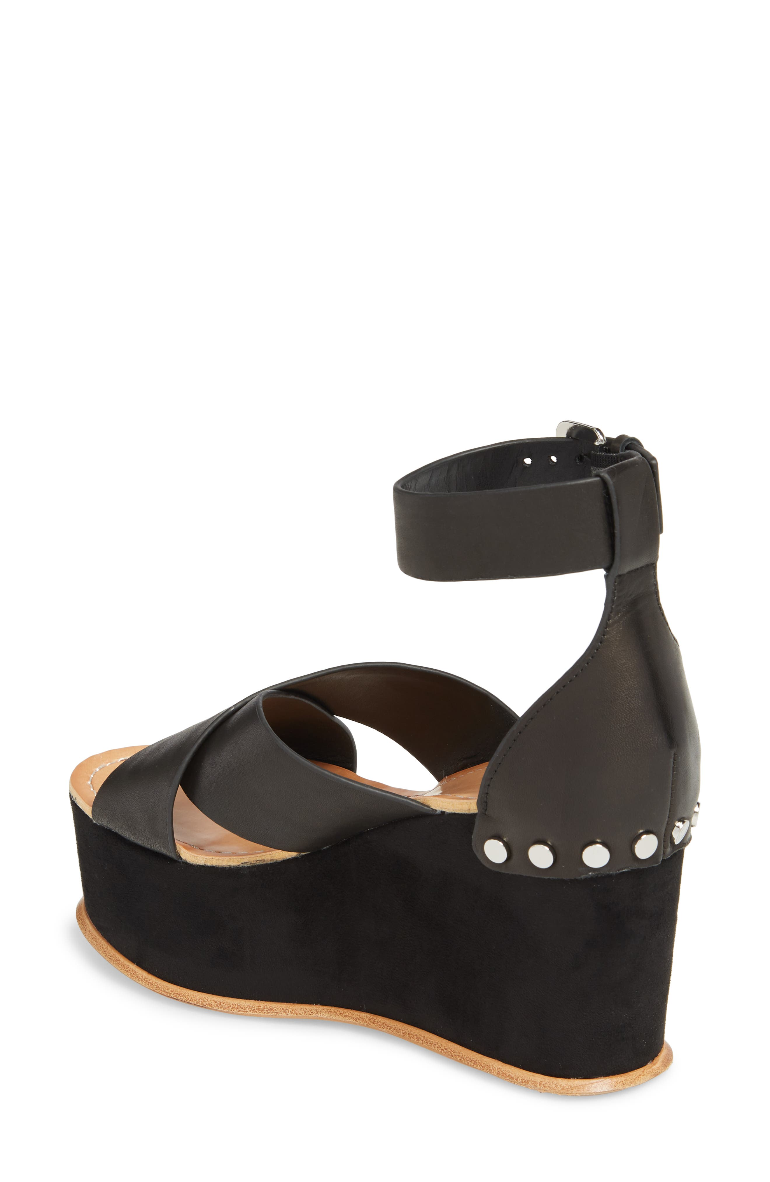 DOLCE VITA,                             Dalrae Platform Wedge Sandal,                             Alternate thumbnail 2, color,                             001