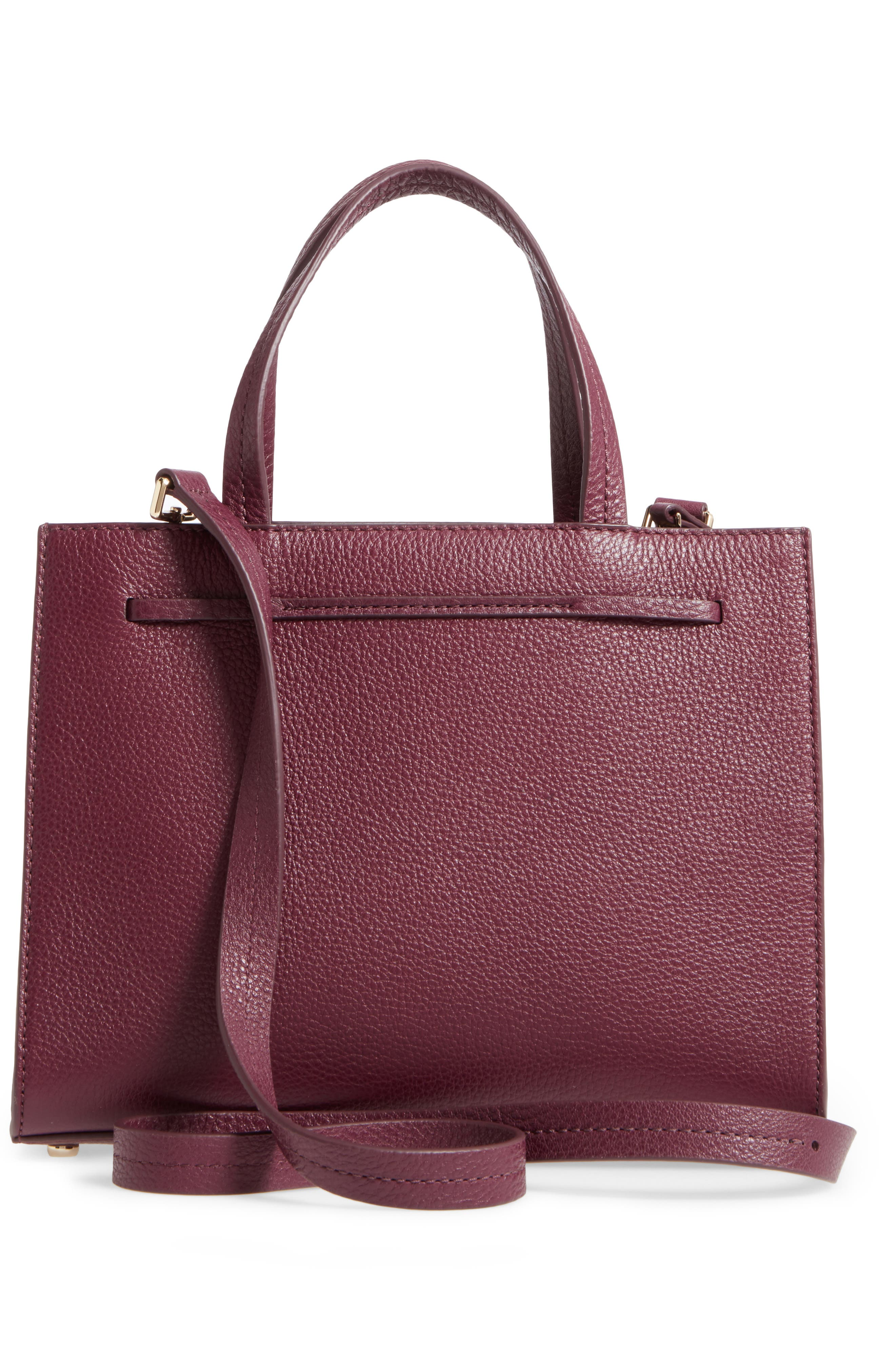 KATE SPADE NEW YORK,                             hayes street small isobel leather satchel,                             Alternate thumbnail 3, color,                             513