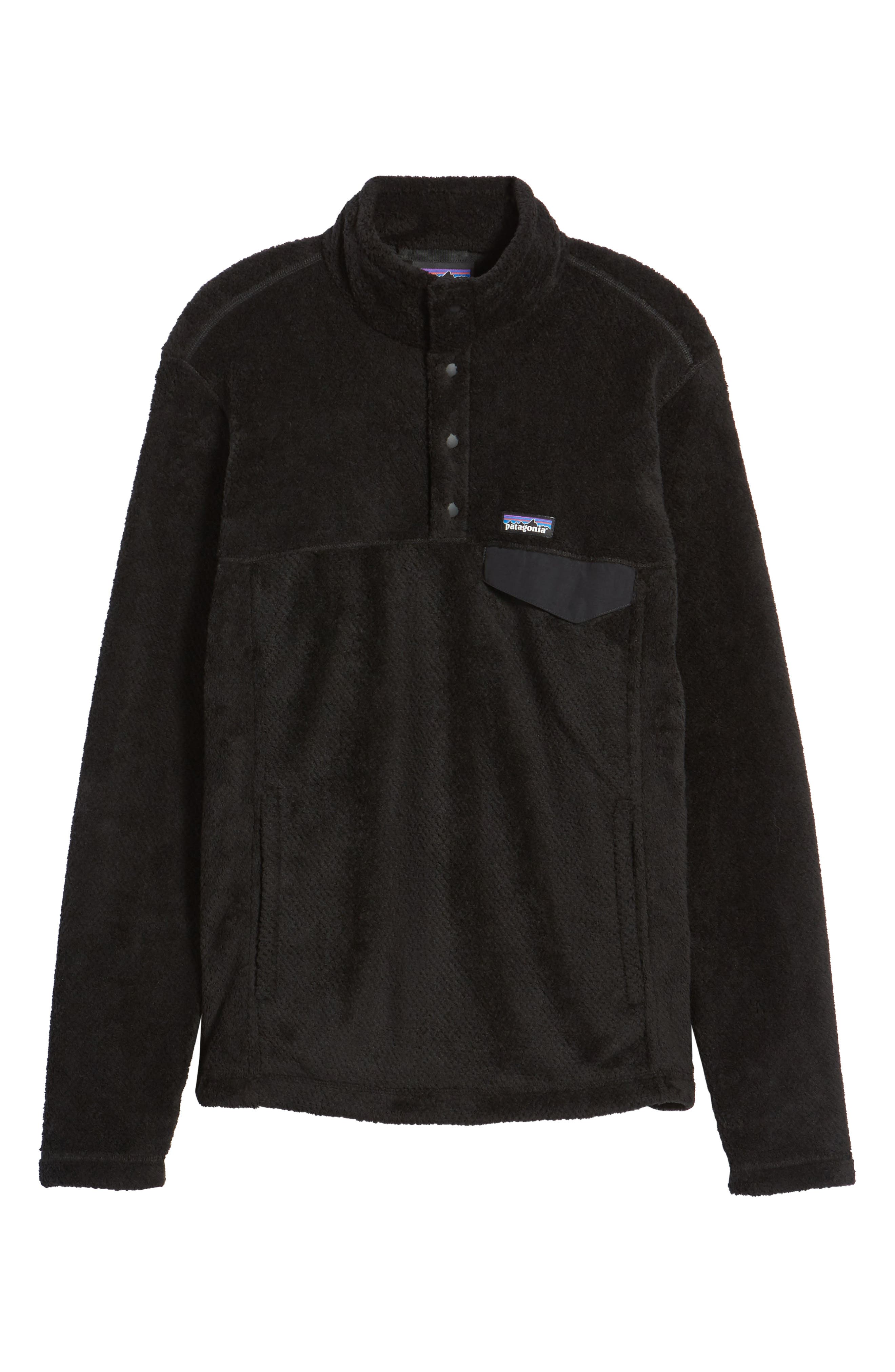 Re-Tool Snap-T<sup>®</sup> Pullover,                             Alternate thumbnail 6, color,                             BLACK