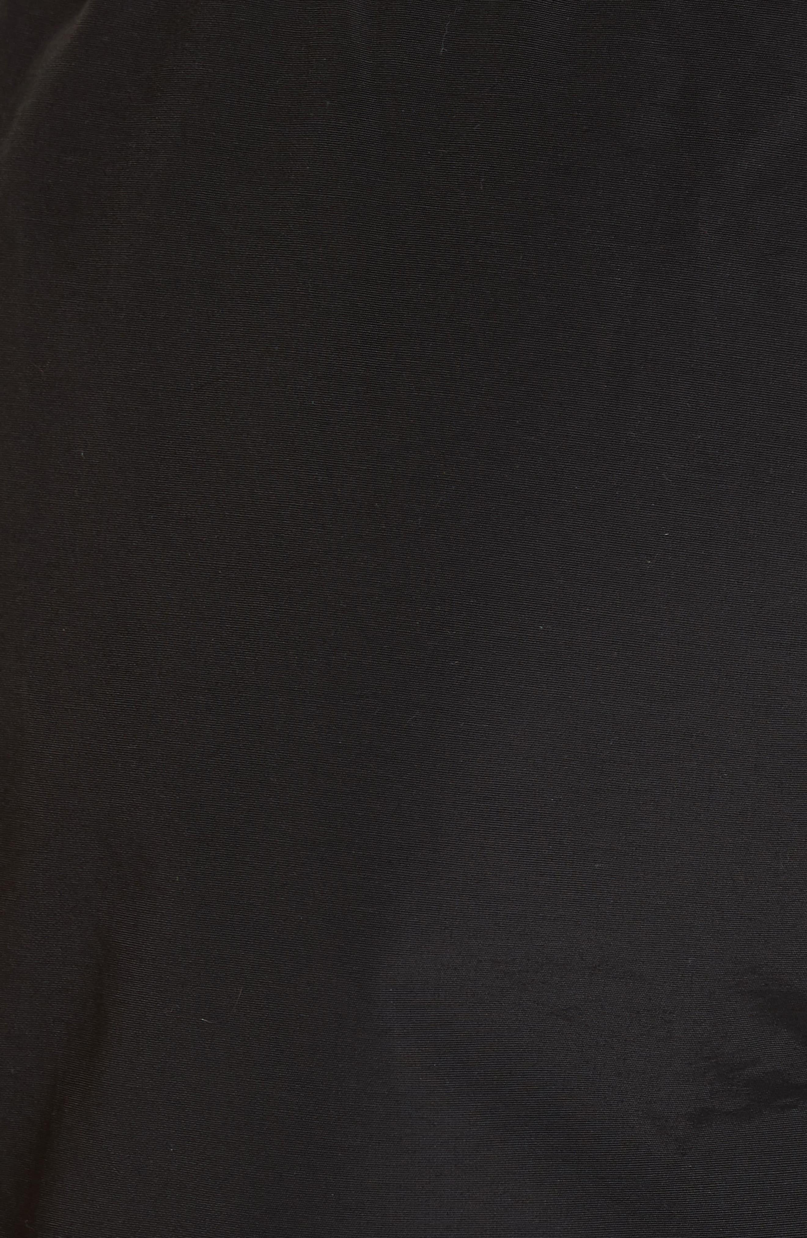 Charles Swim Trunks,                             Alternate thumbnail 5, color,                             BLACK