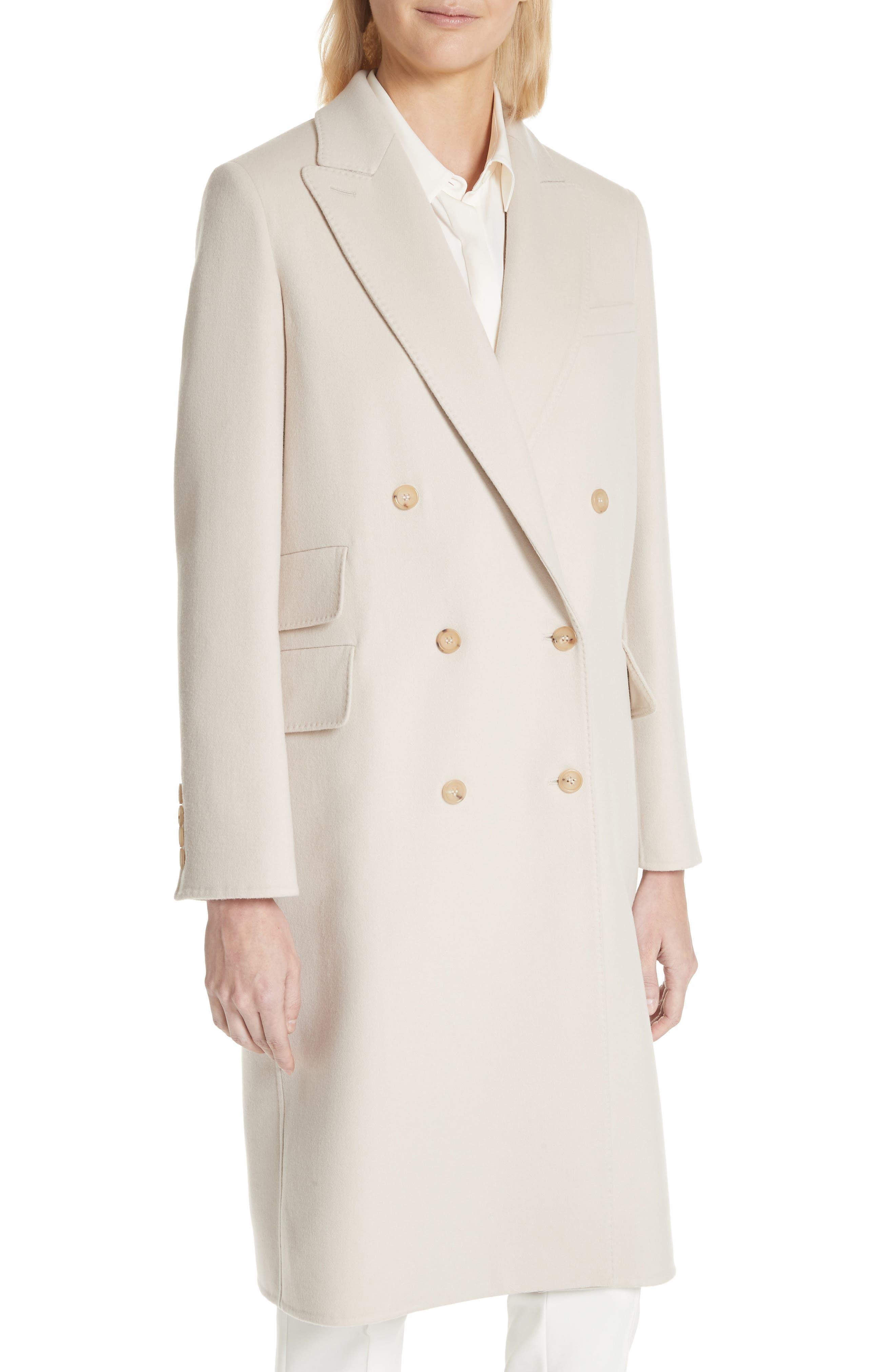 Armonia Wool & Cashmere Coat,                             Alternate thumbnail 4, color,                             906