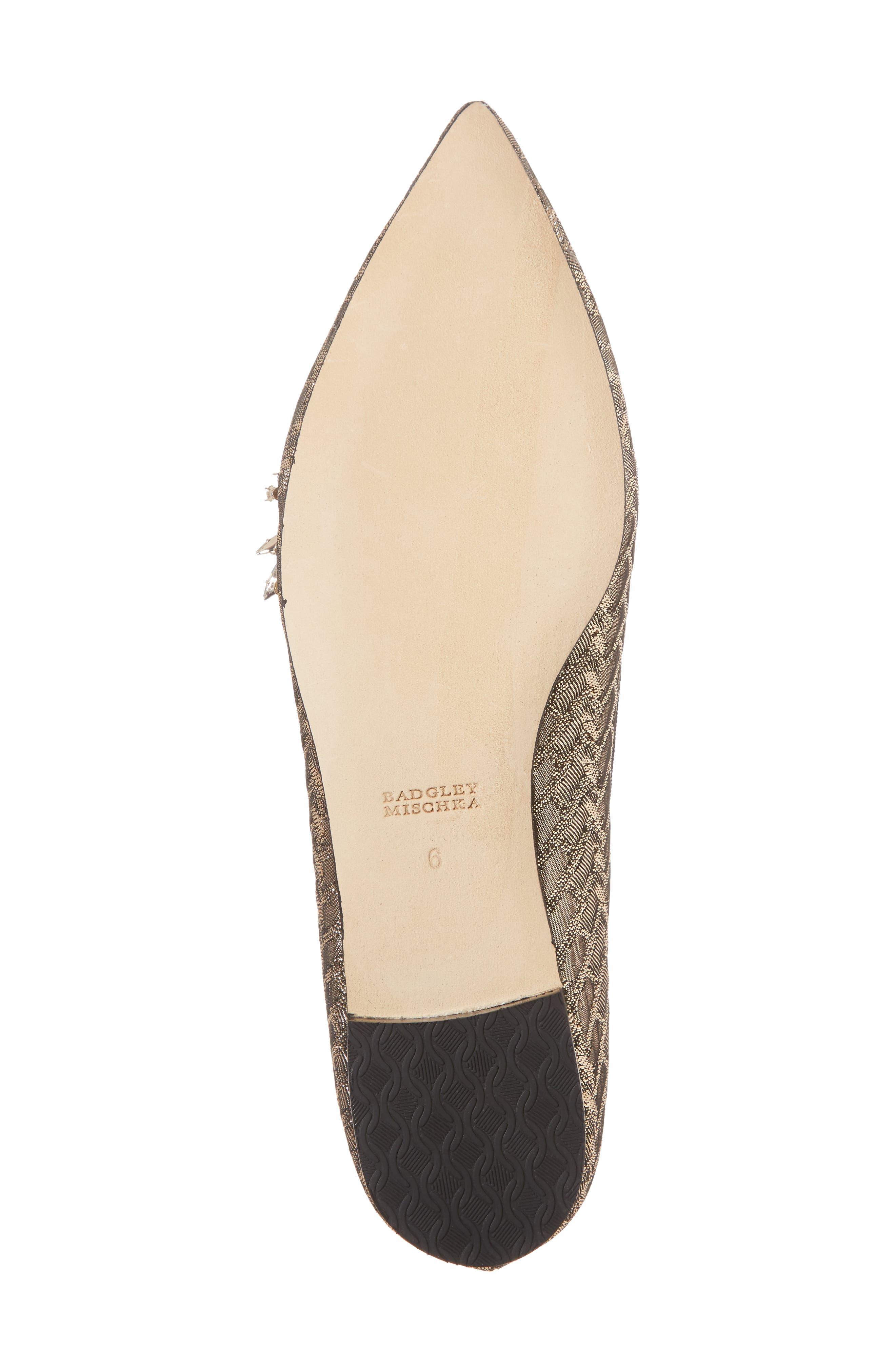 Mandy Embellished Loafer Flat,                             Alternate thumbnail 12, color,