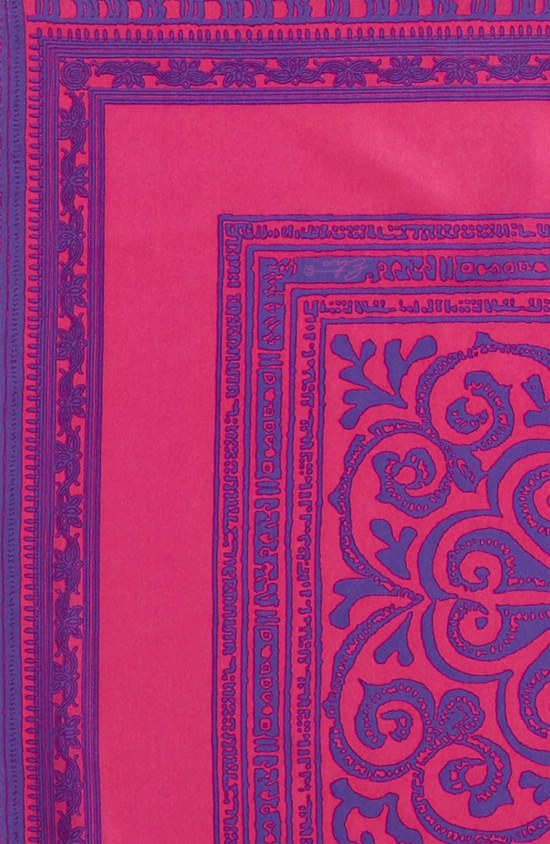 Silk Pocket Square,                             Alternate thumbnail 4, color,