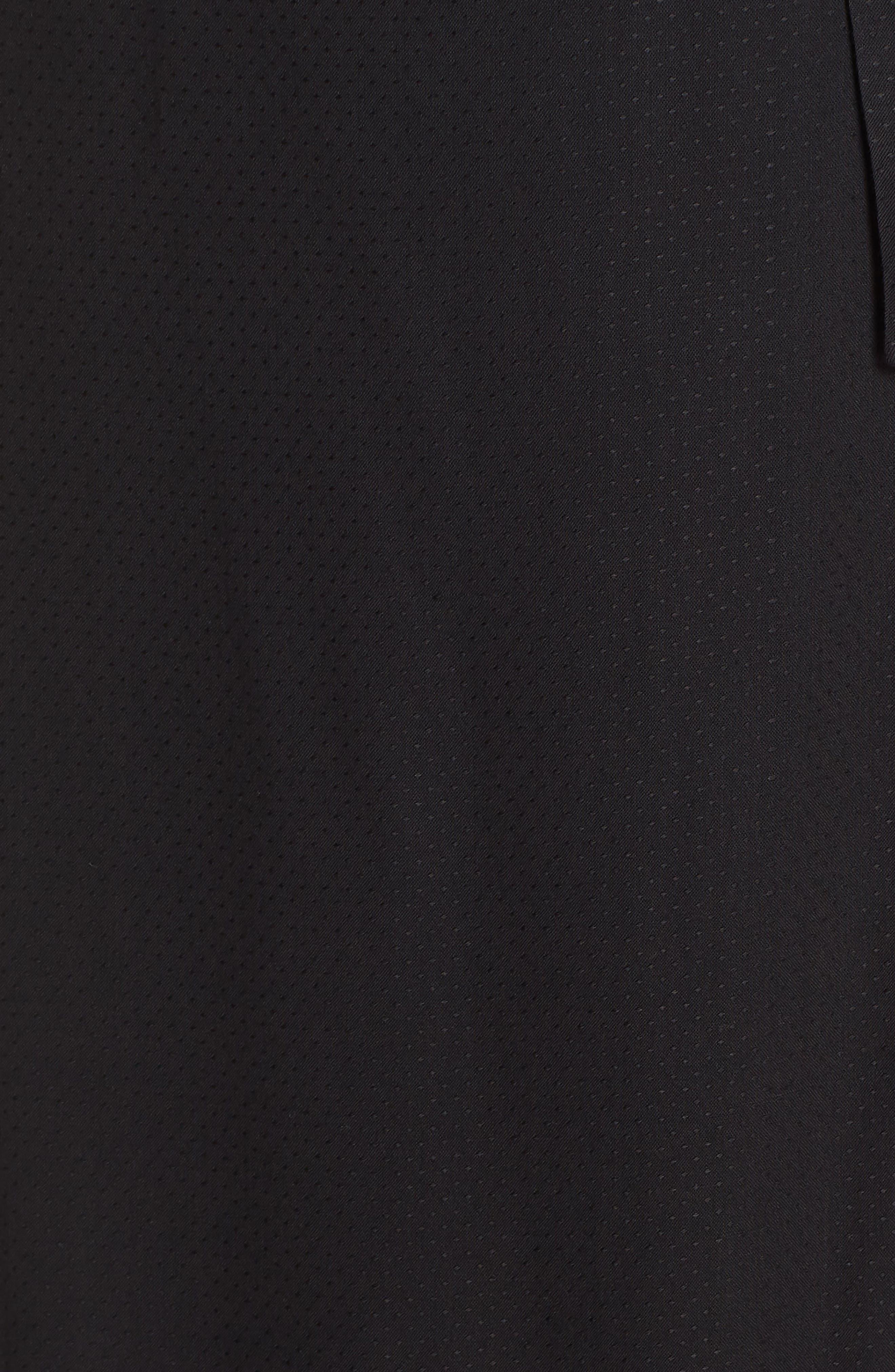 Regina Sleeveless Maxi Dress,                             Alternate thumbnail 6, color,                             001