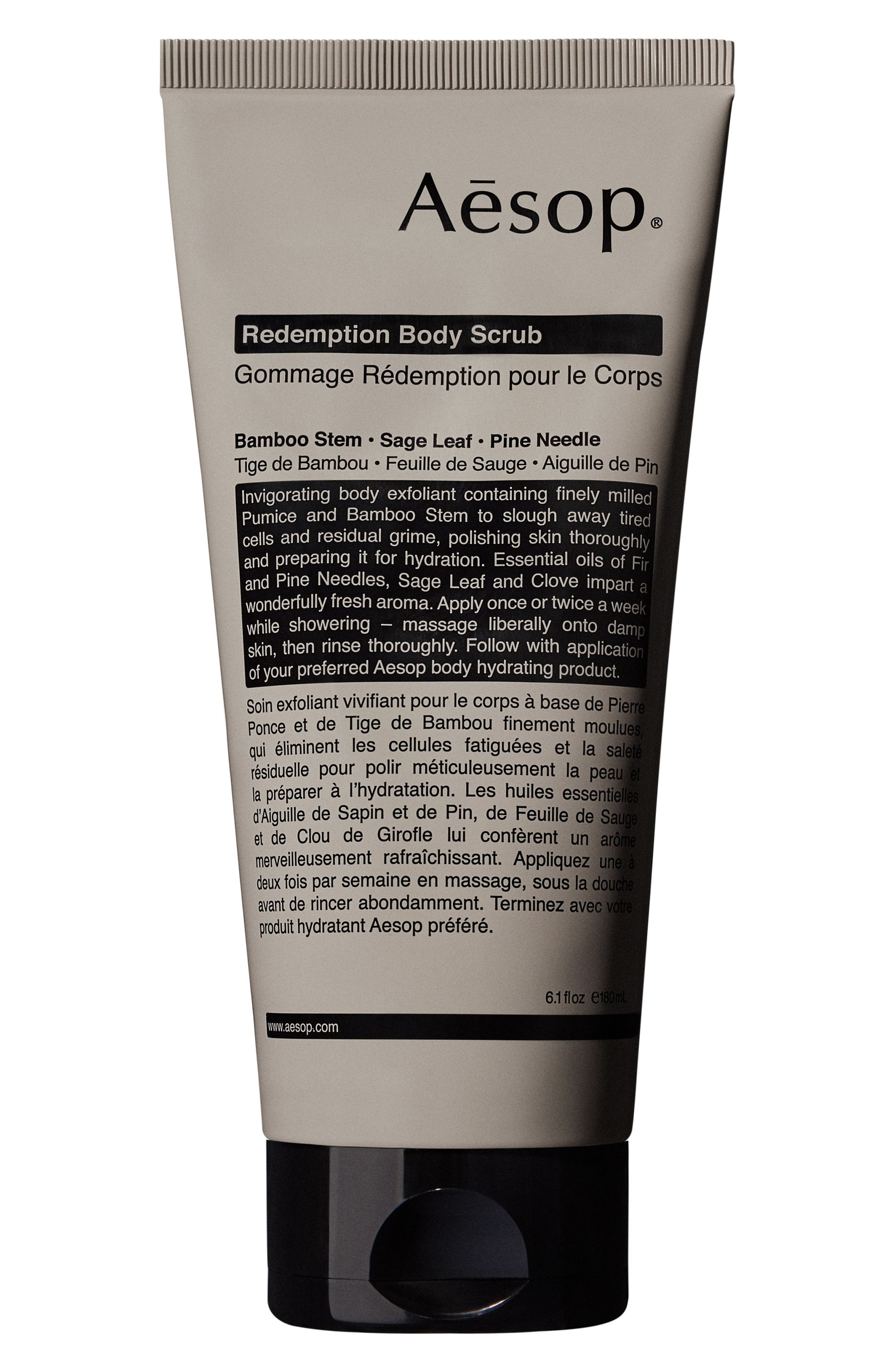 Redemption Body Scrub,                         Main,                         color, NO COLOR