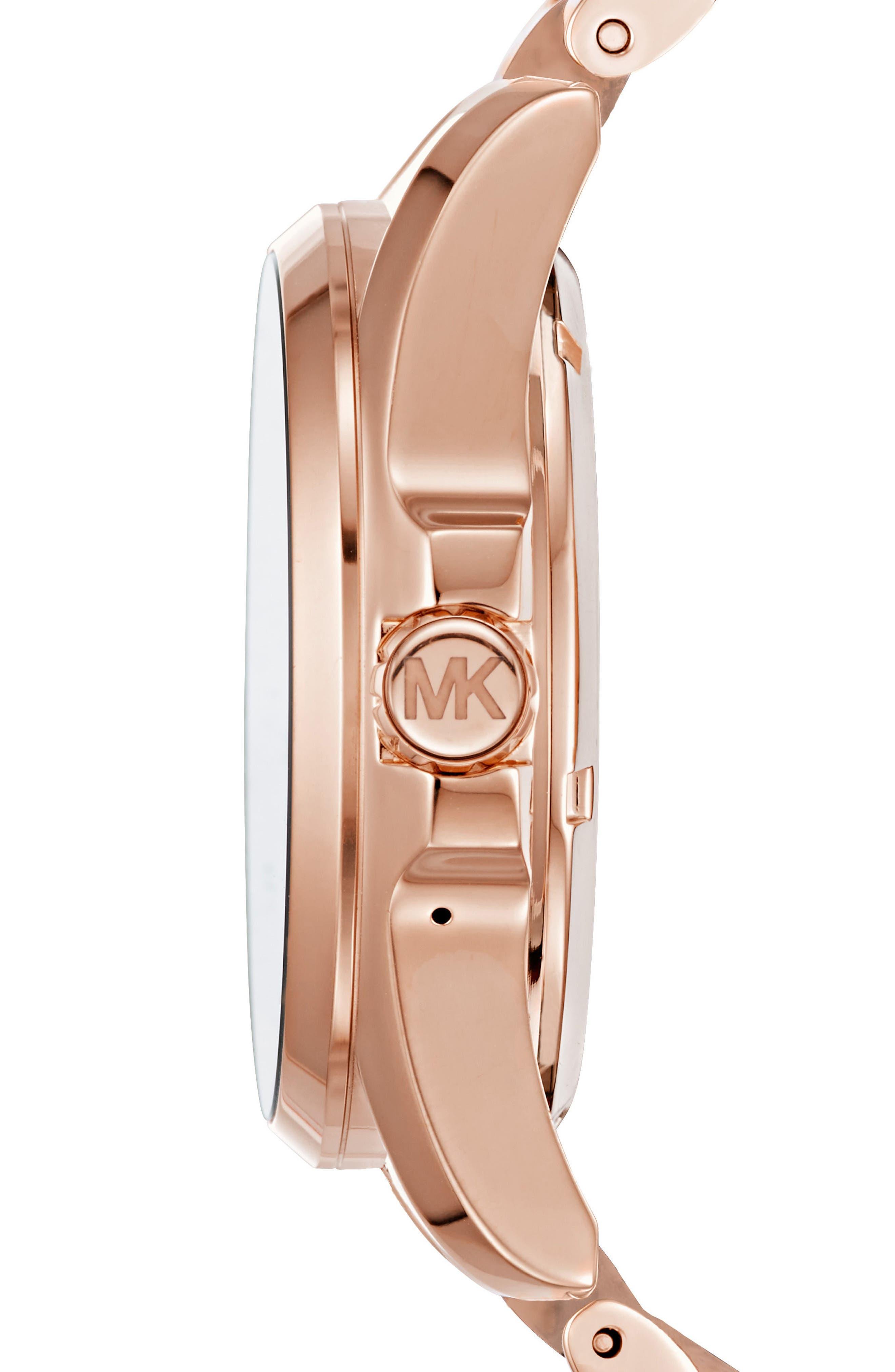 MICHAEL Michael Kors Bradshaw Access Bracelet Smart Watch, 45mm,                             Alternate thumbnail 14, color,