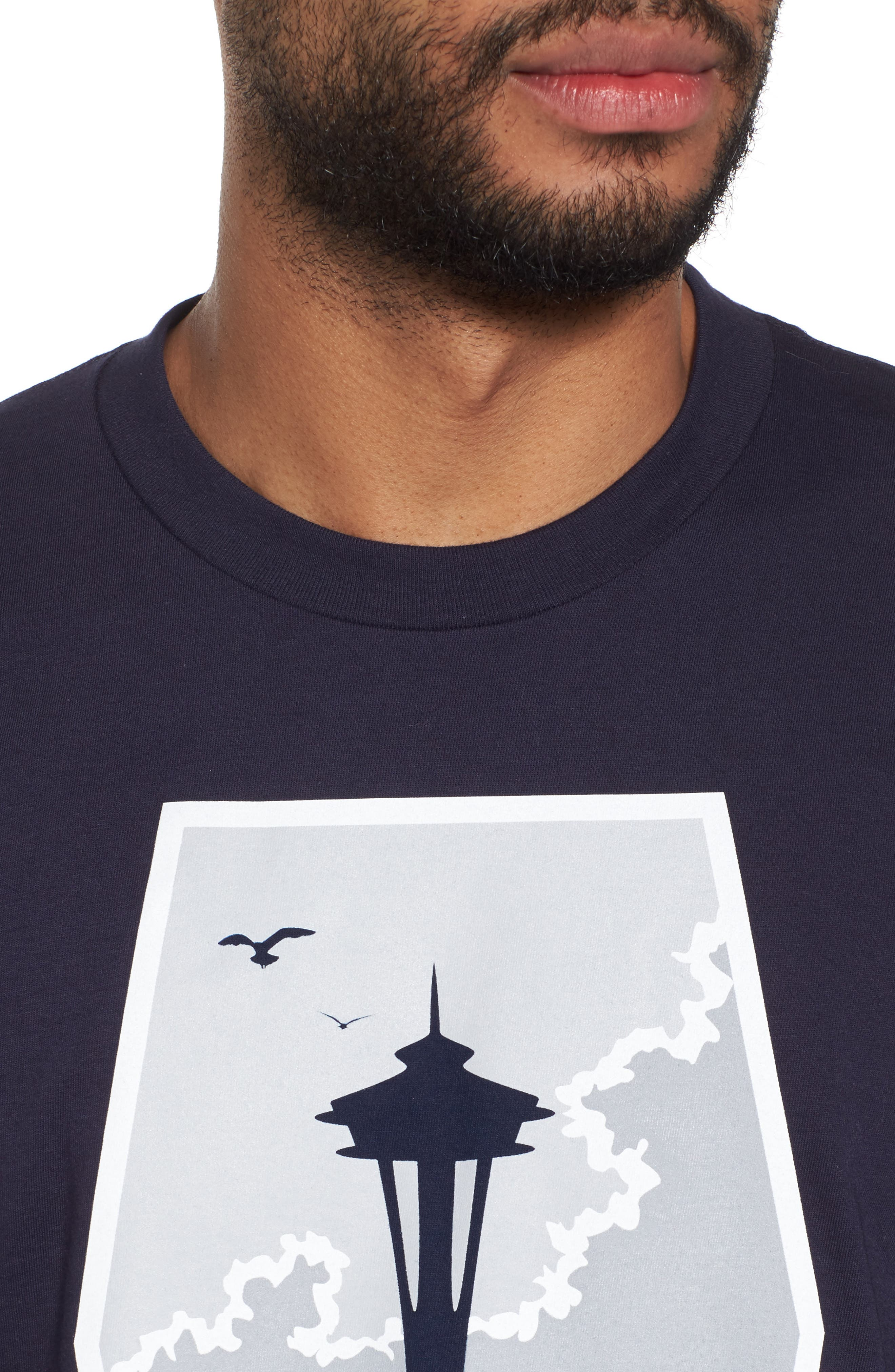Foul Weather Fans T-Shirt,                             Alternate thumbnail 4, color,                             400