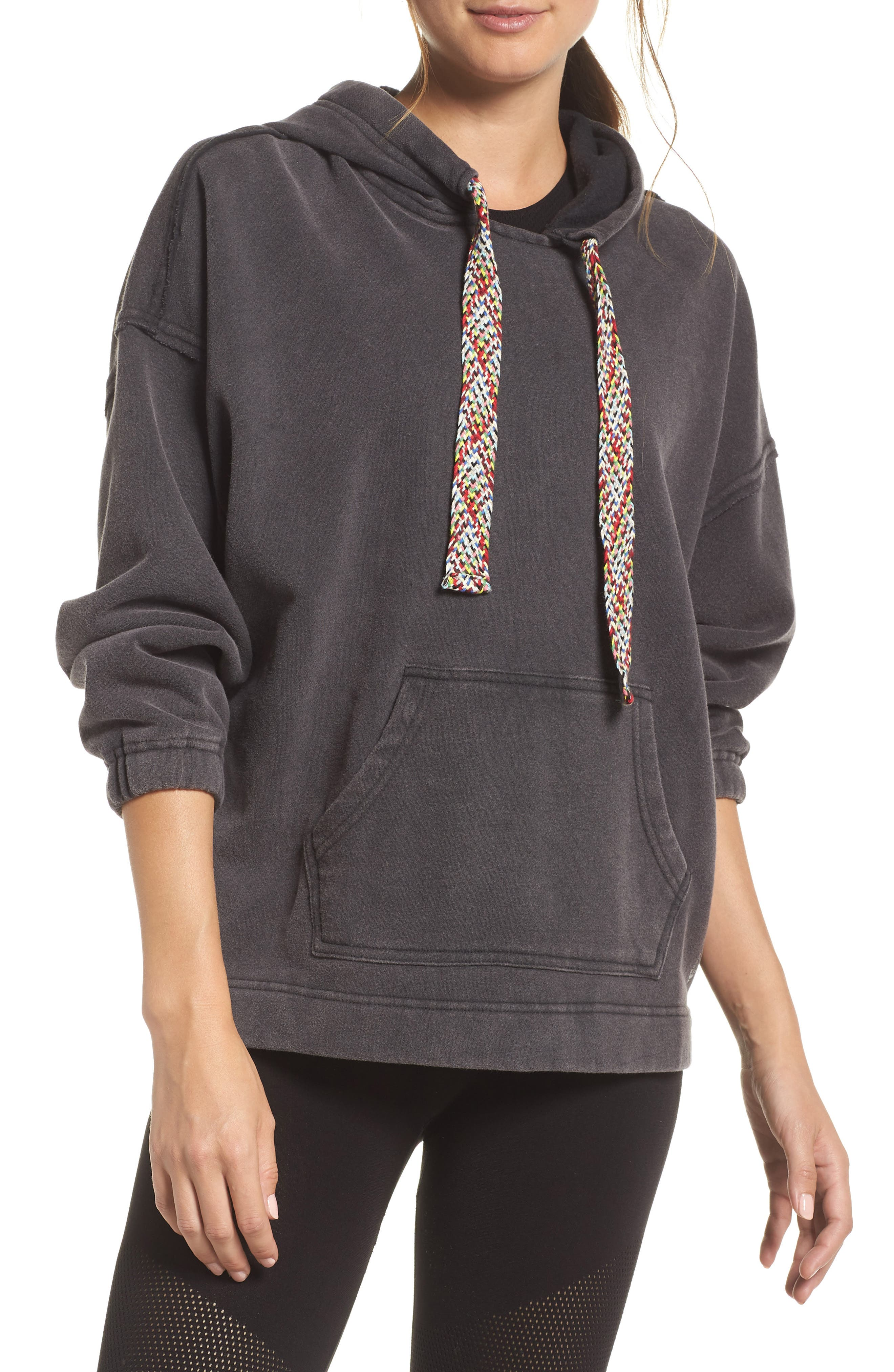 Chill Out Hoodie,                         Main,                         color, BLACK