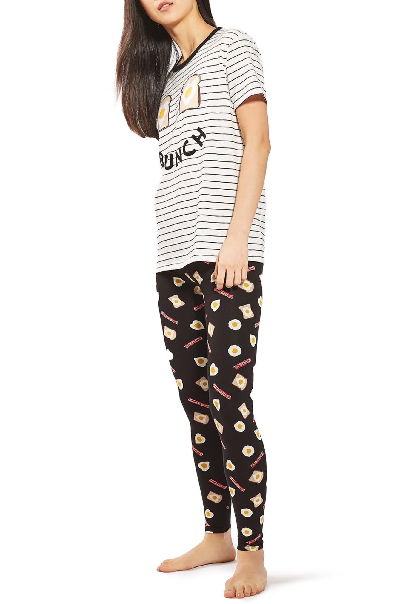 Brunch Pajamas,                             Main thumbnail 1, color,                             900