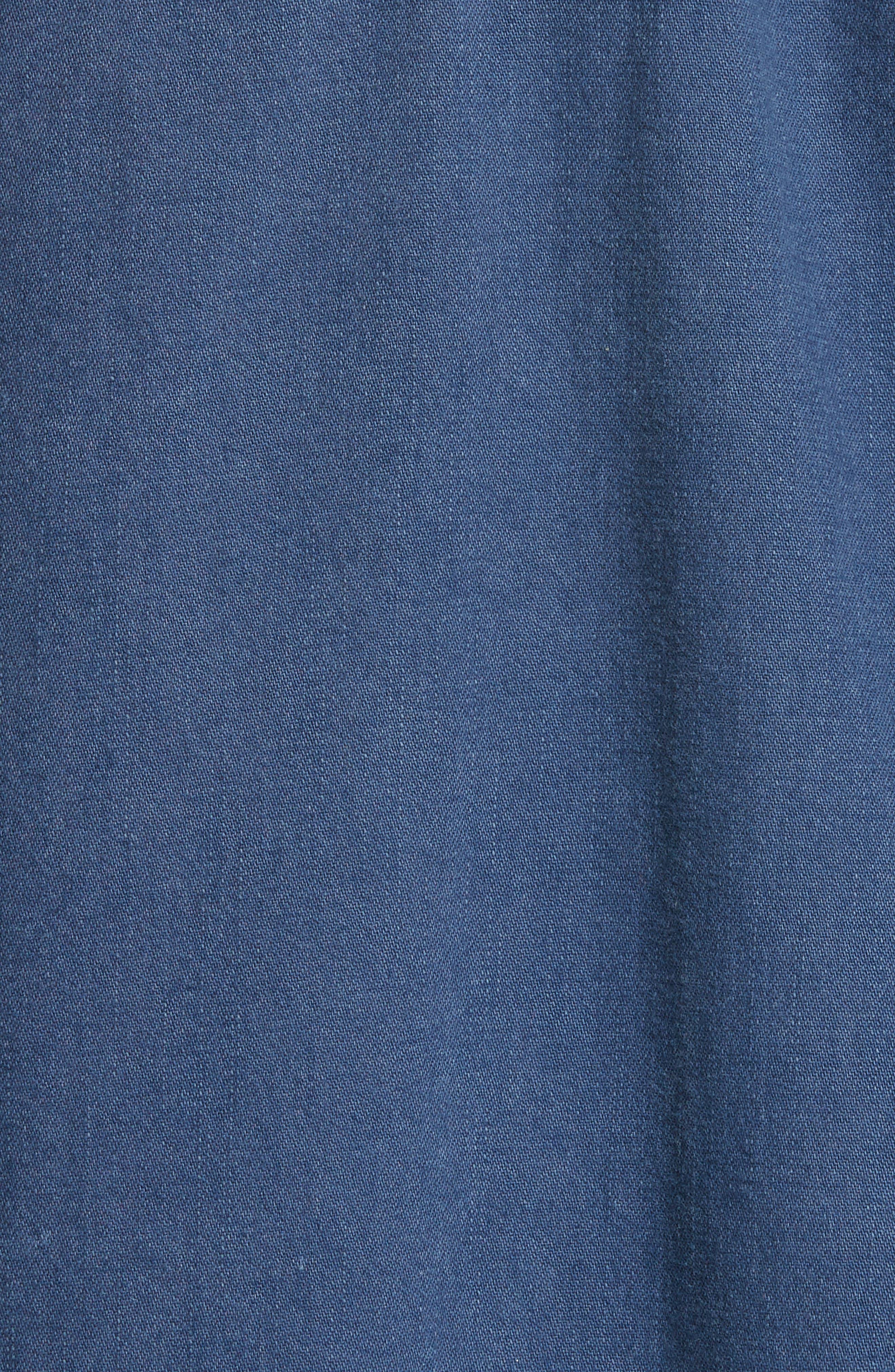 Superstar Chambray Shirt,                             Alternate thumbnail 5, color,                             400