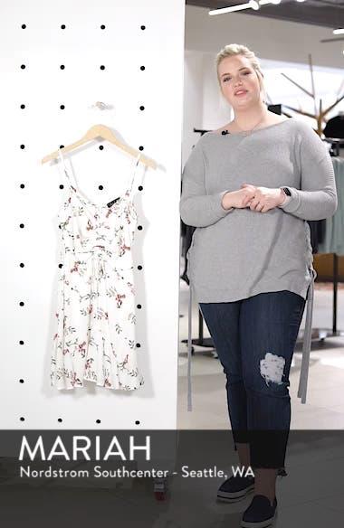 Cinch Front Minidress, sales video thumbnail