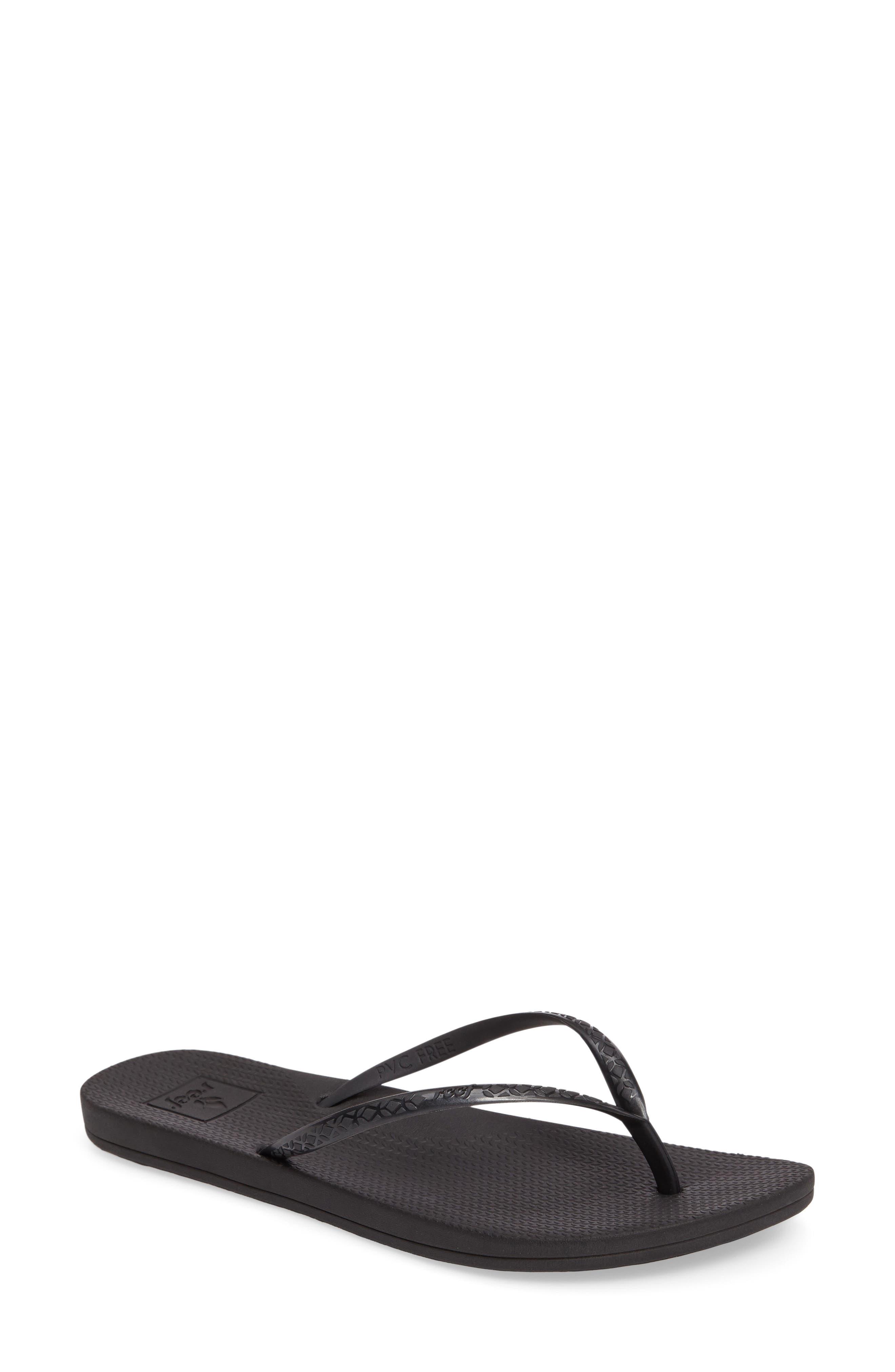 REEF Escape Lux Flip Flop in Black