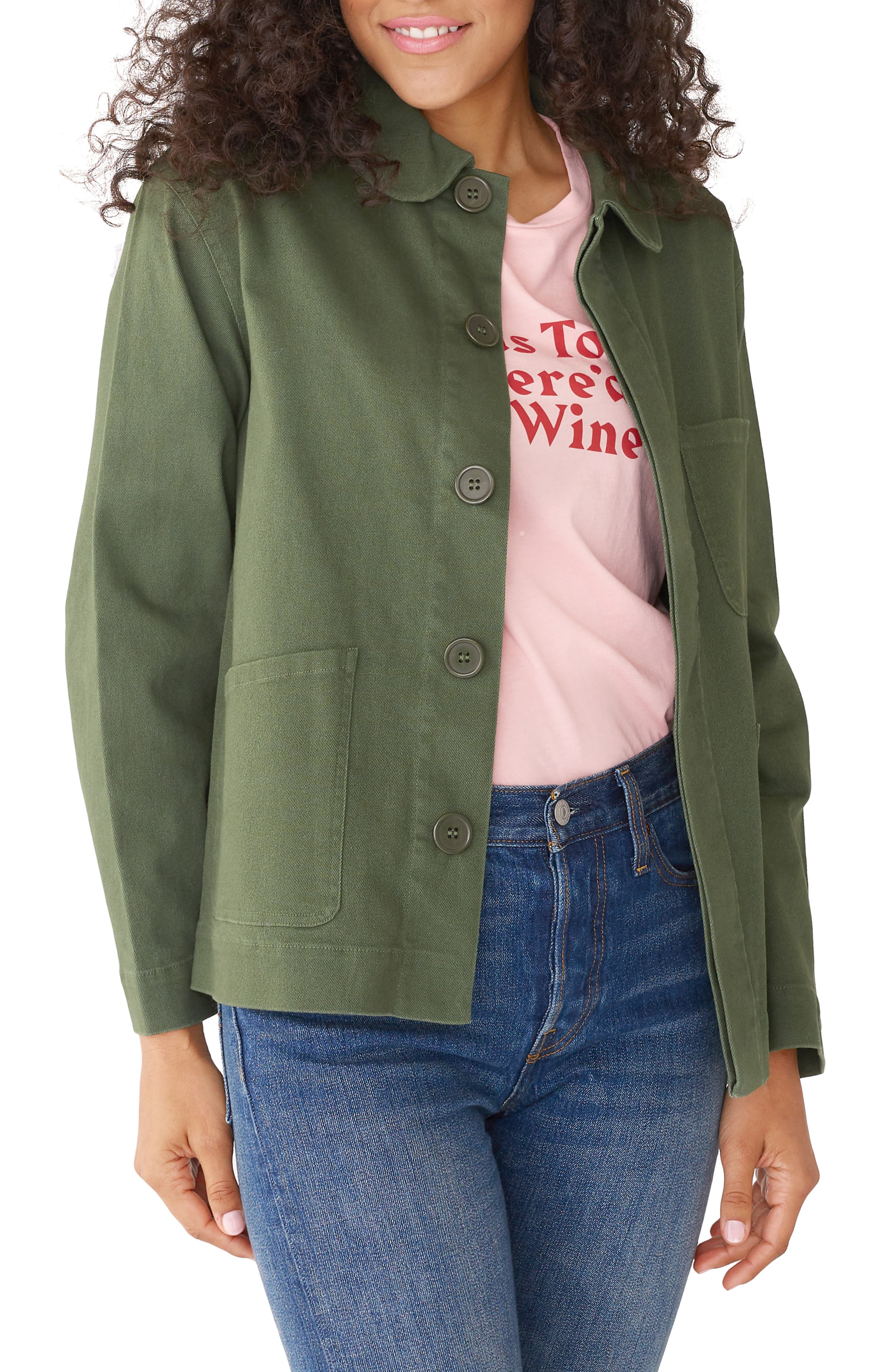 BAN.DO Ban. Do Can'T Complain Work Jacket in Green
