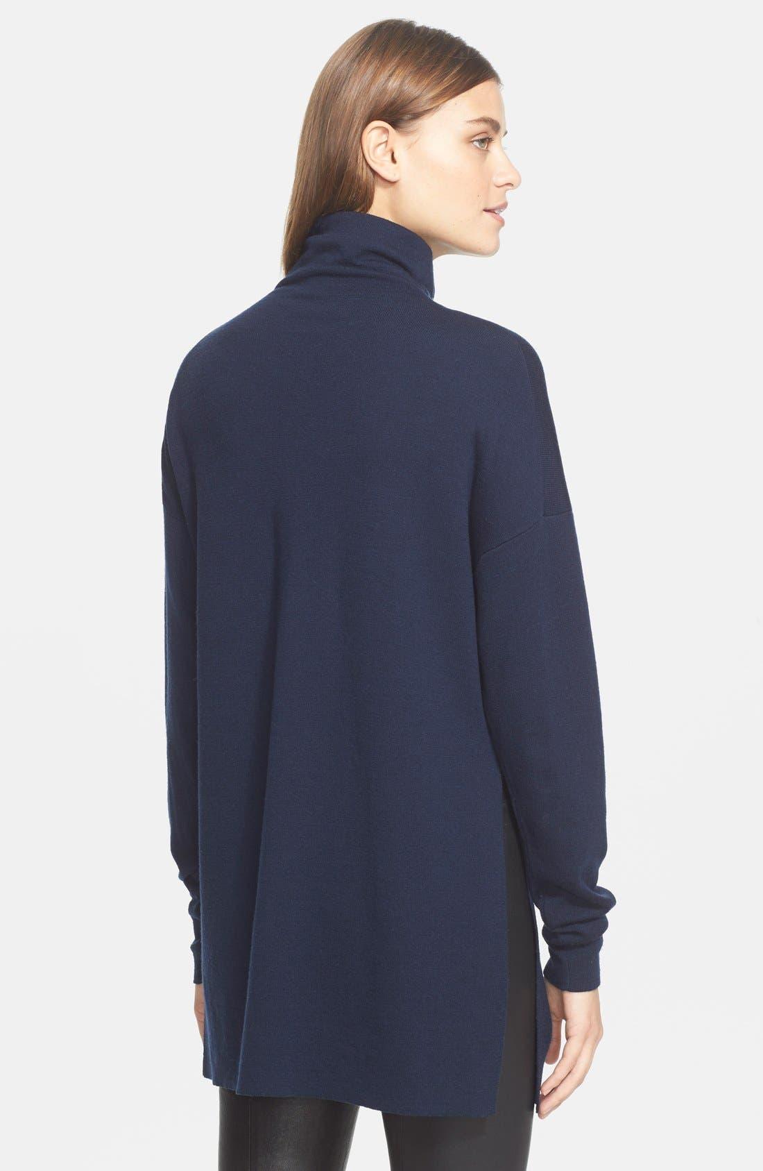 Turtleneck Sweater,                             Alternate thumbnail 3, color,                             402
