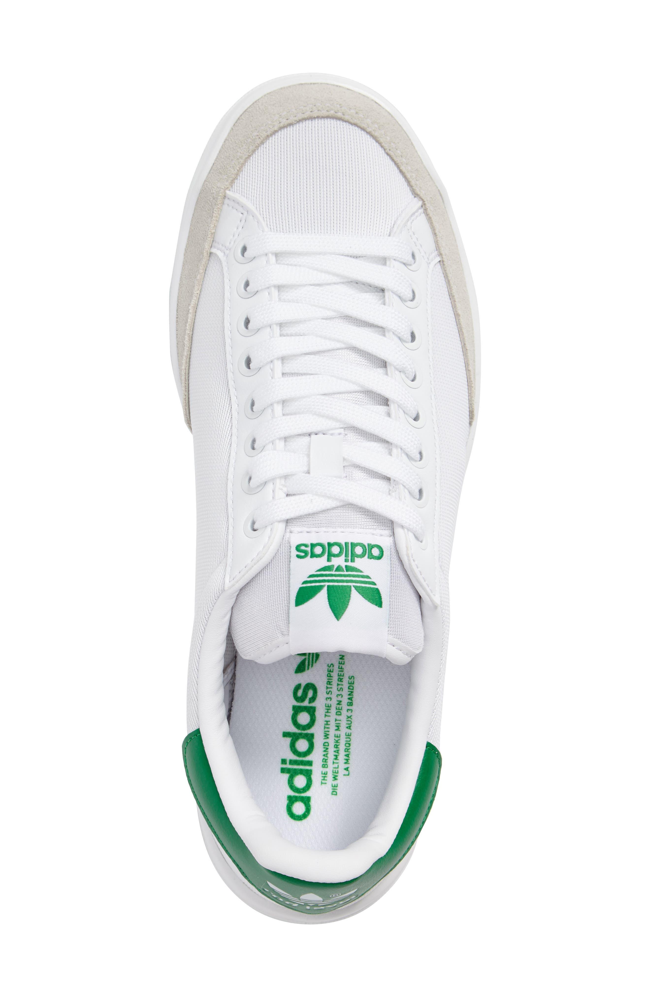 ADIDAS,                             Rod Laver Super Sneaker,                             Alternate thumbnail 3, color,                             100