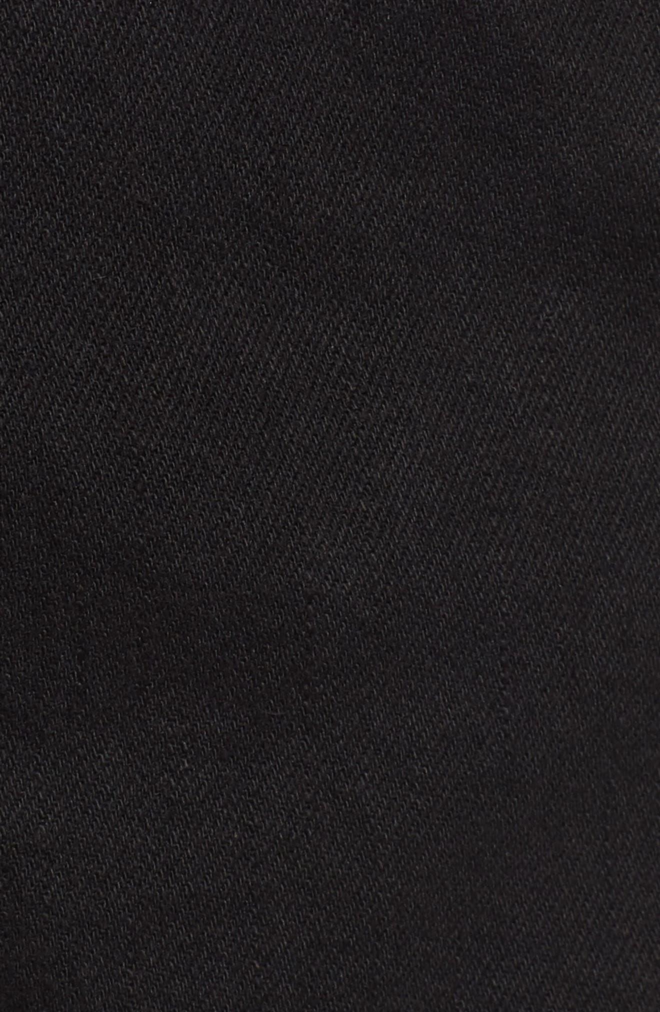 Vega Denim Shorts,                             Alternate thumbnail 6, color,                             001