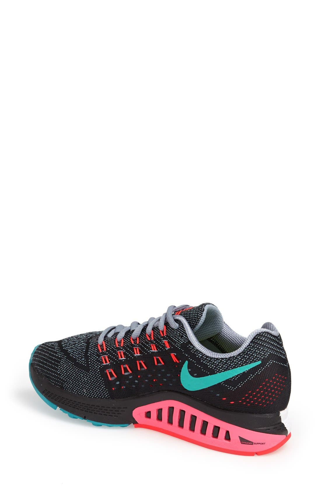 NIKE,                             'Air Zoom Structure 18' Running Shoe,                             Alternate thumbnail 3, color,                             001