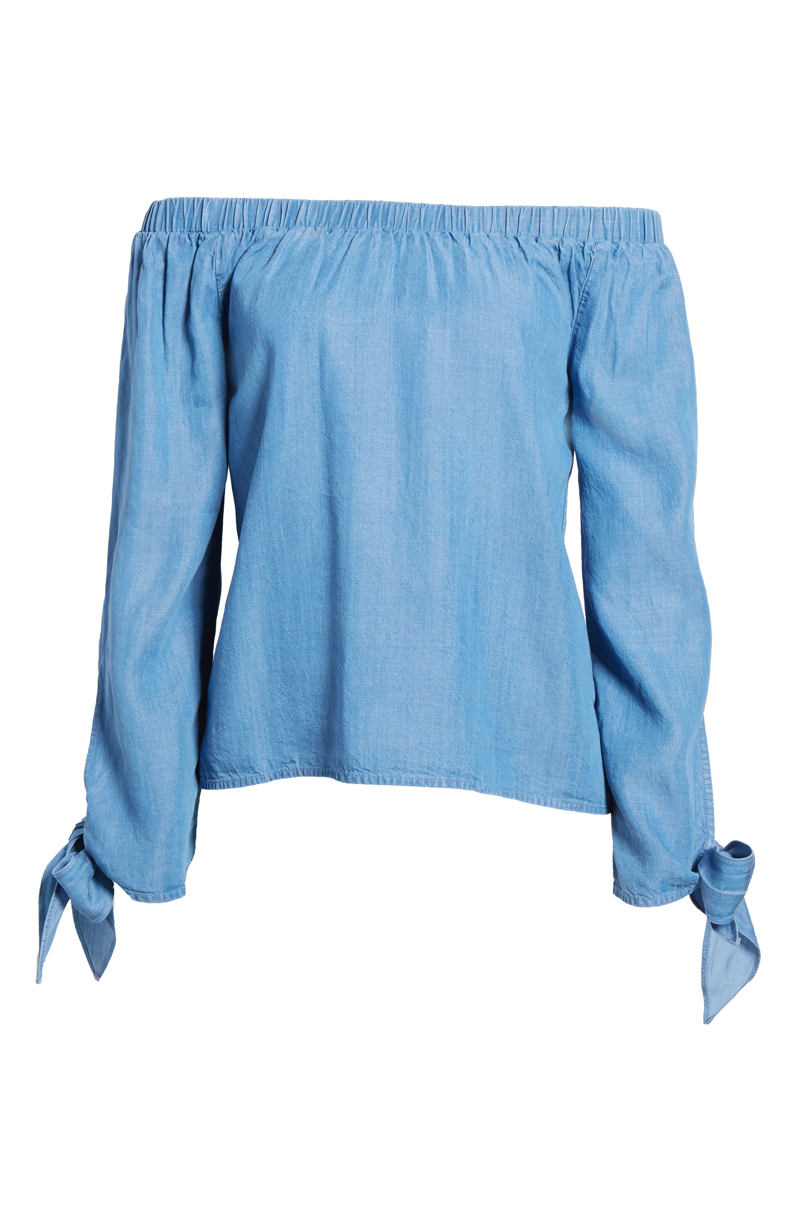 Bishop + Young Avery Off the Shoulder Top,                             Alternate thumbnail 6, color,